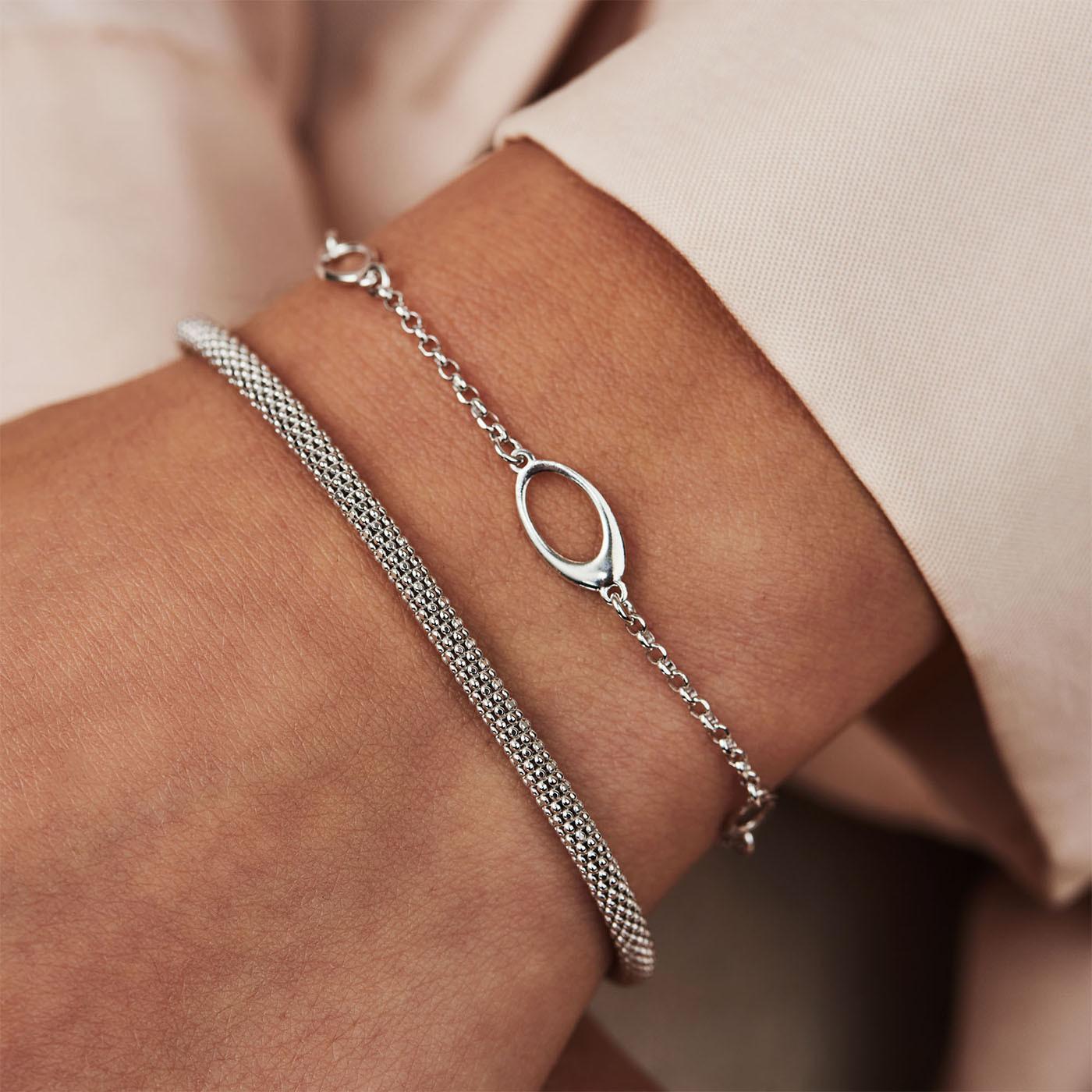 Selected Jewels Emma Vieve 925 sterling zilveren armband