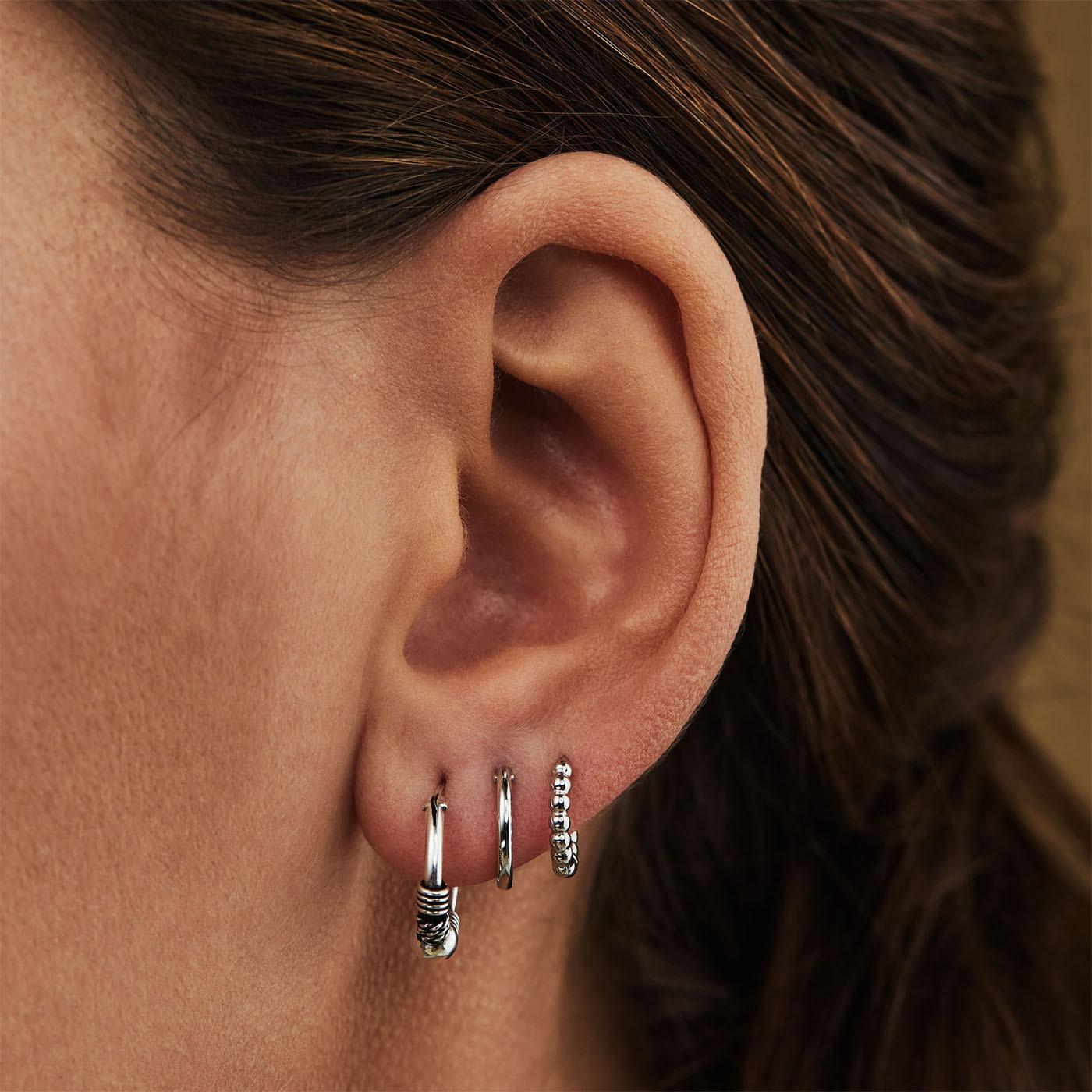 Selected Jewels 925 Sterling Zilveren Lily Oorbellenset SJSET1330069