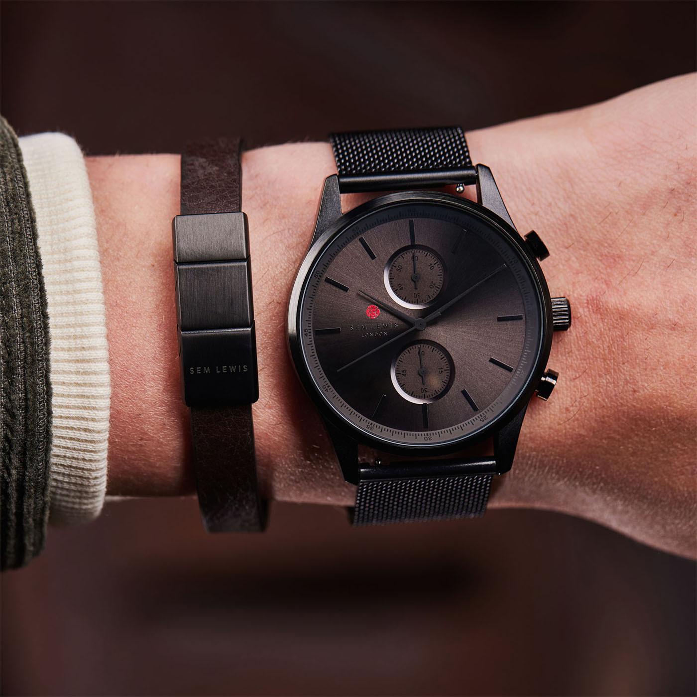 Sem Lewis Metropolitan Northwick Park Chronograph horloge SL1100008