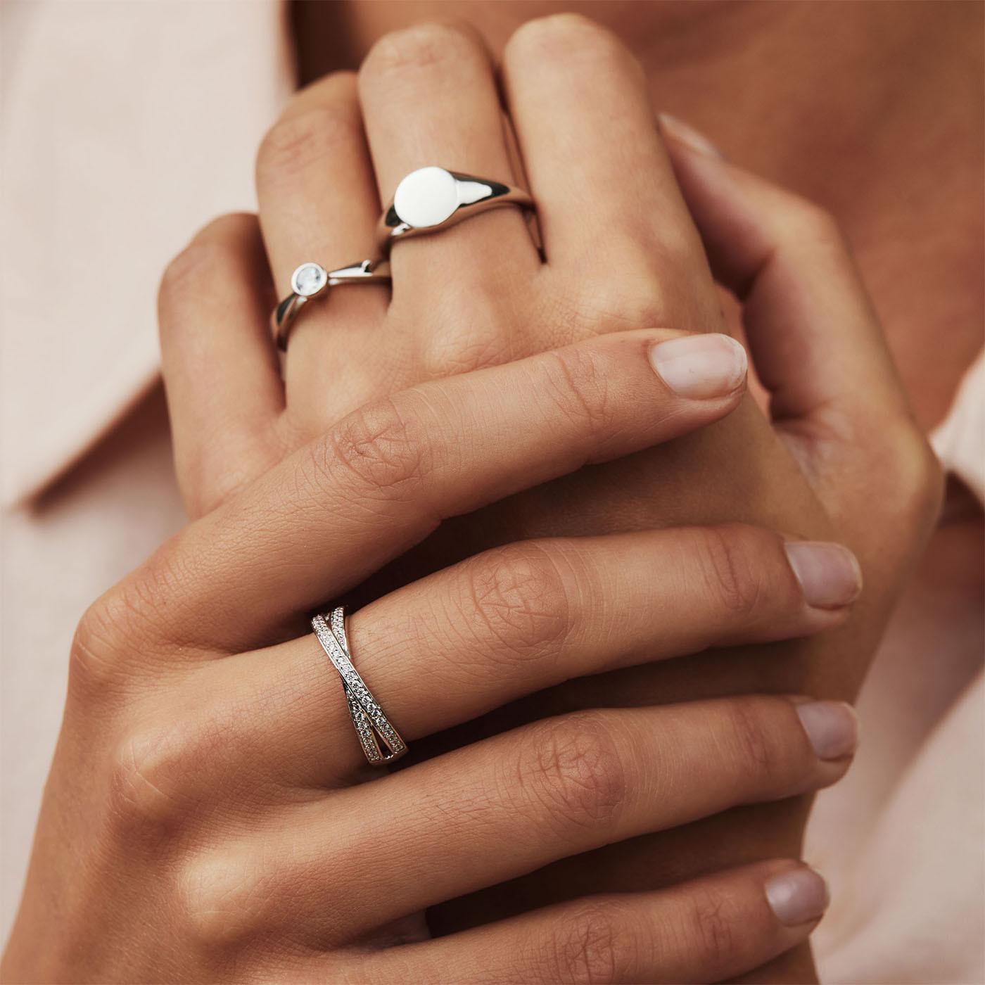 Selected Jewels Mila Elodie 925 sterling zilveren ring SJ0210171
