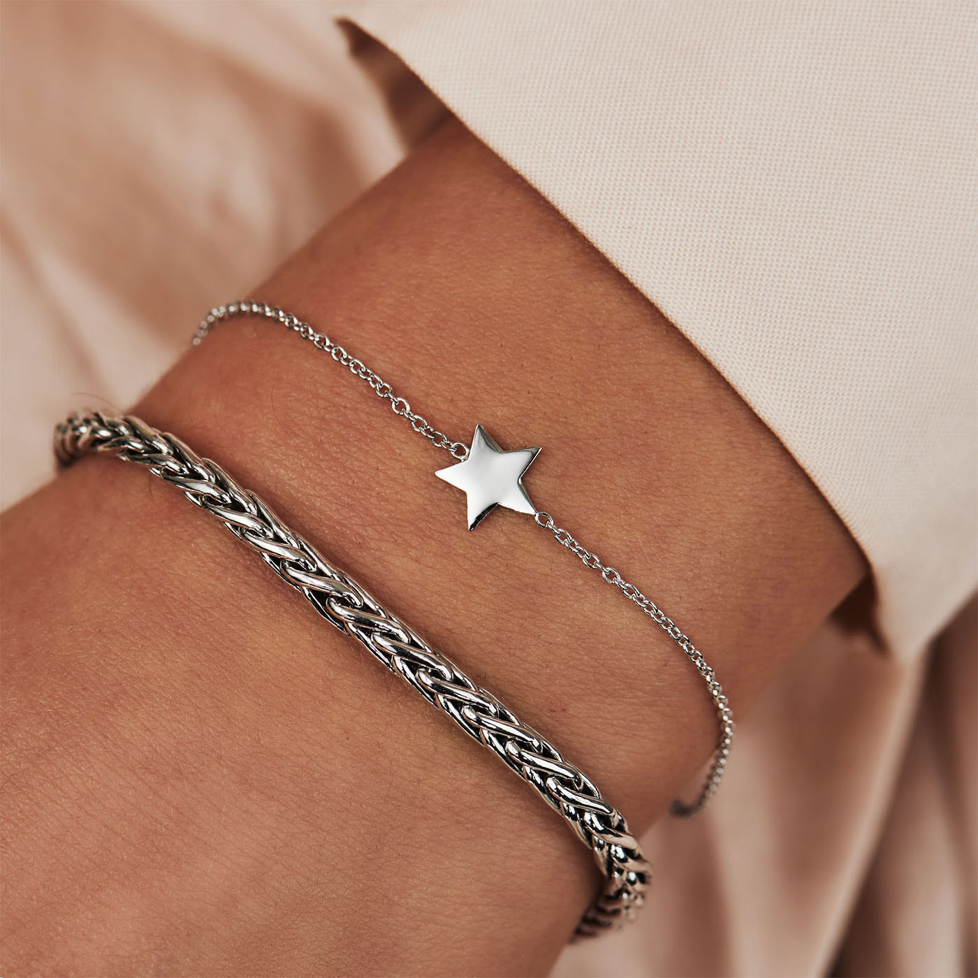 Selected Jewels Emma Vieve 925 sterling zilveren armband SJSS19070