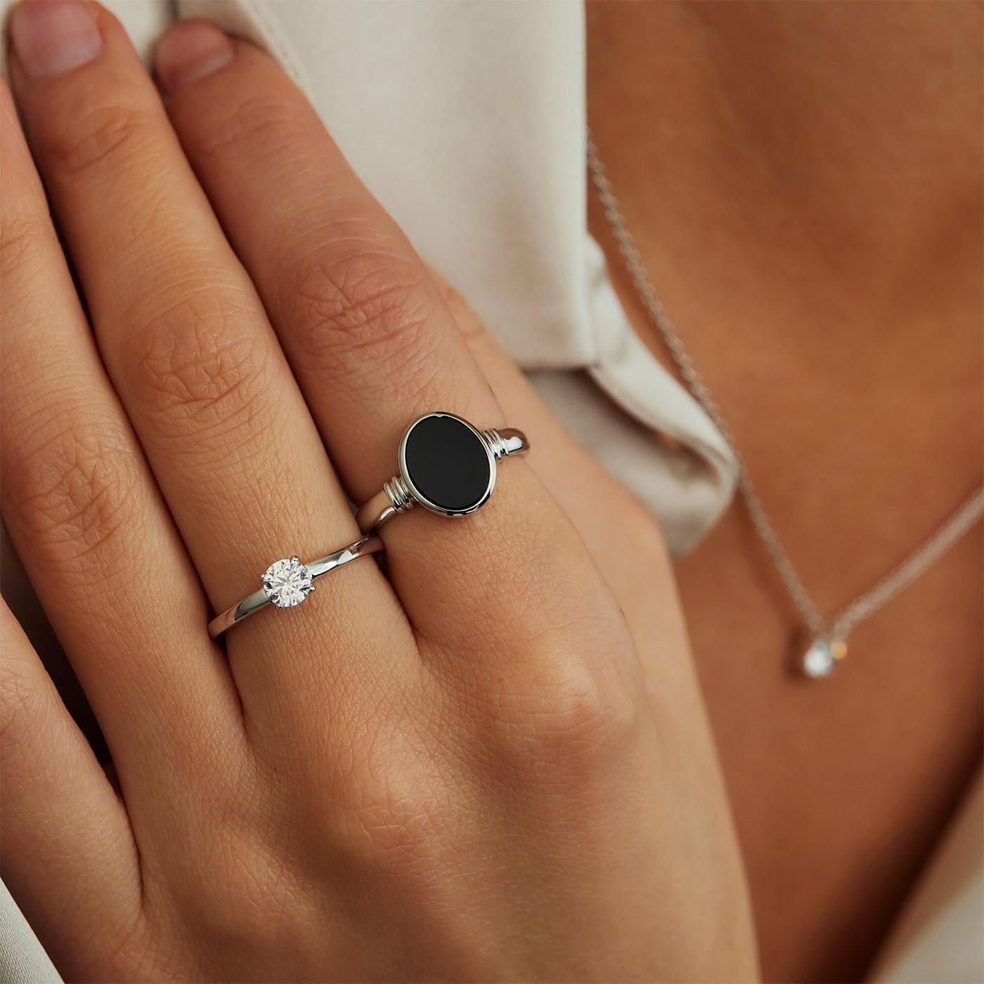 Parte Di Me 925 Sterling Zilveren La Fiore Rosa Ring PDM1300008