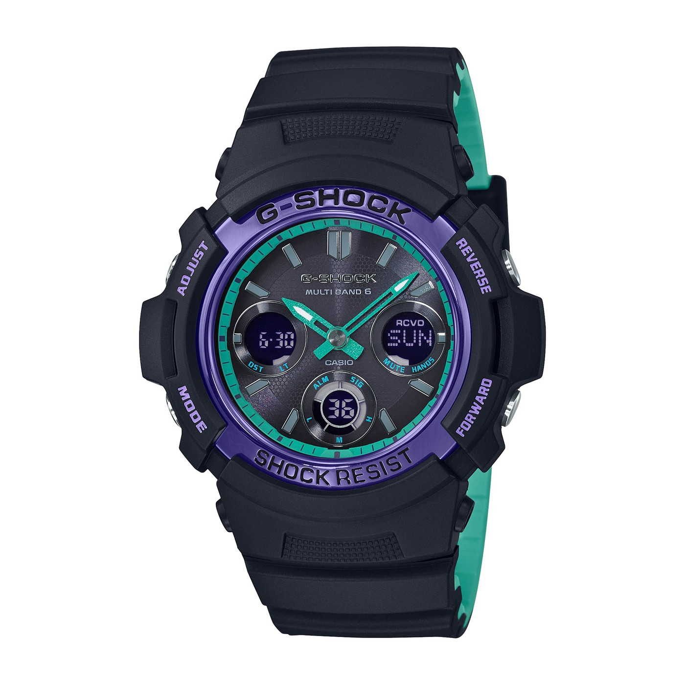 G-Shock Classic Horloge AWG-M100SBL-1AER