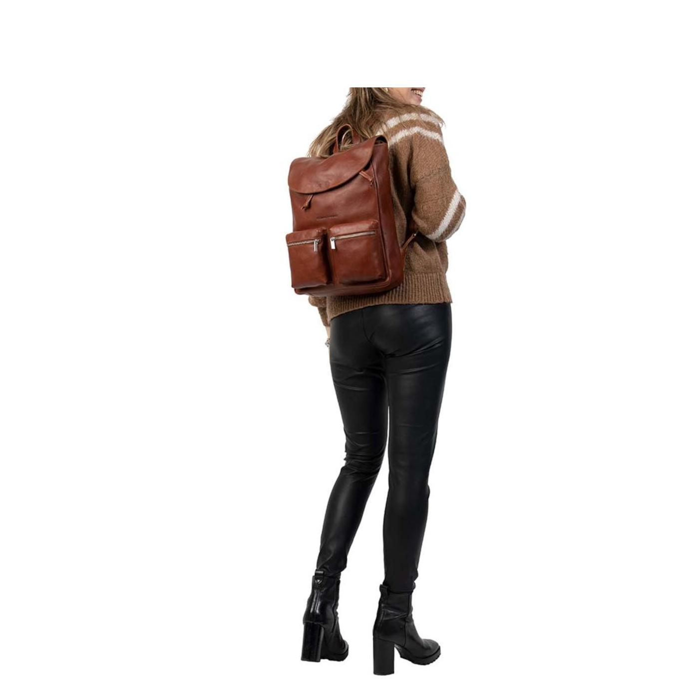 Cowboysbag  Cognac Rugzak3132-000300