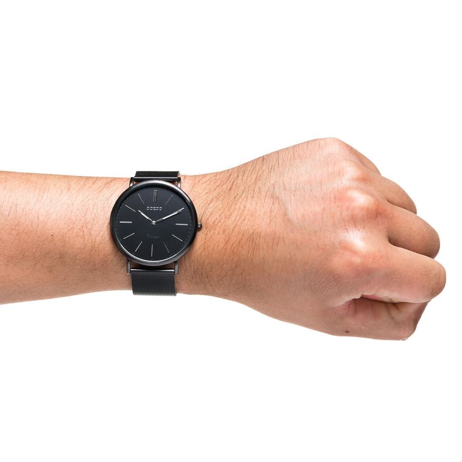 OOZOO Vintage horloge Zwart C7383