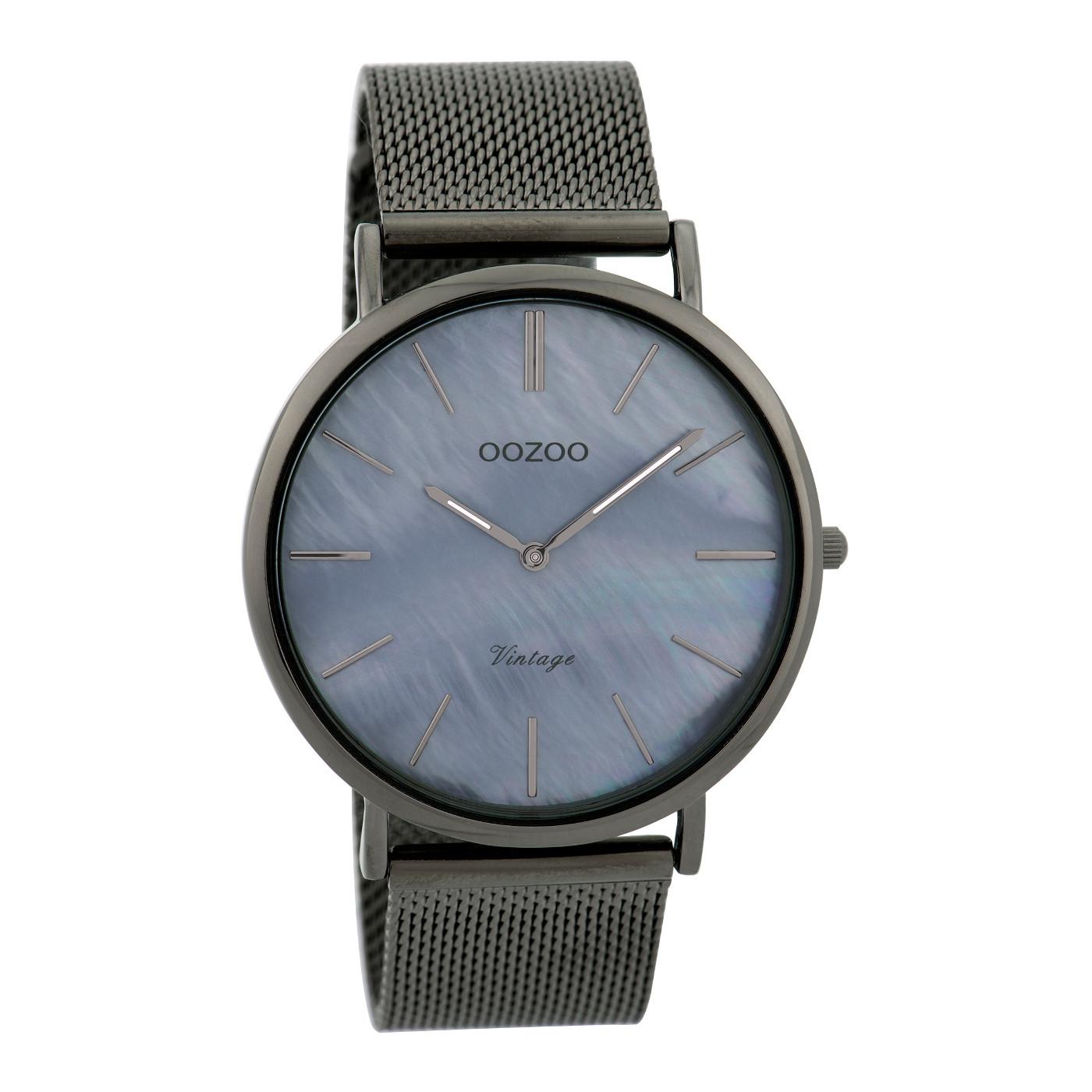 OOZOO Vintage Titanium horloge C9368 (40 mm)