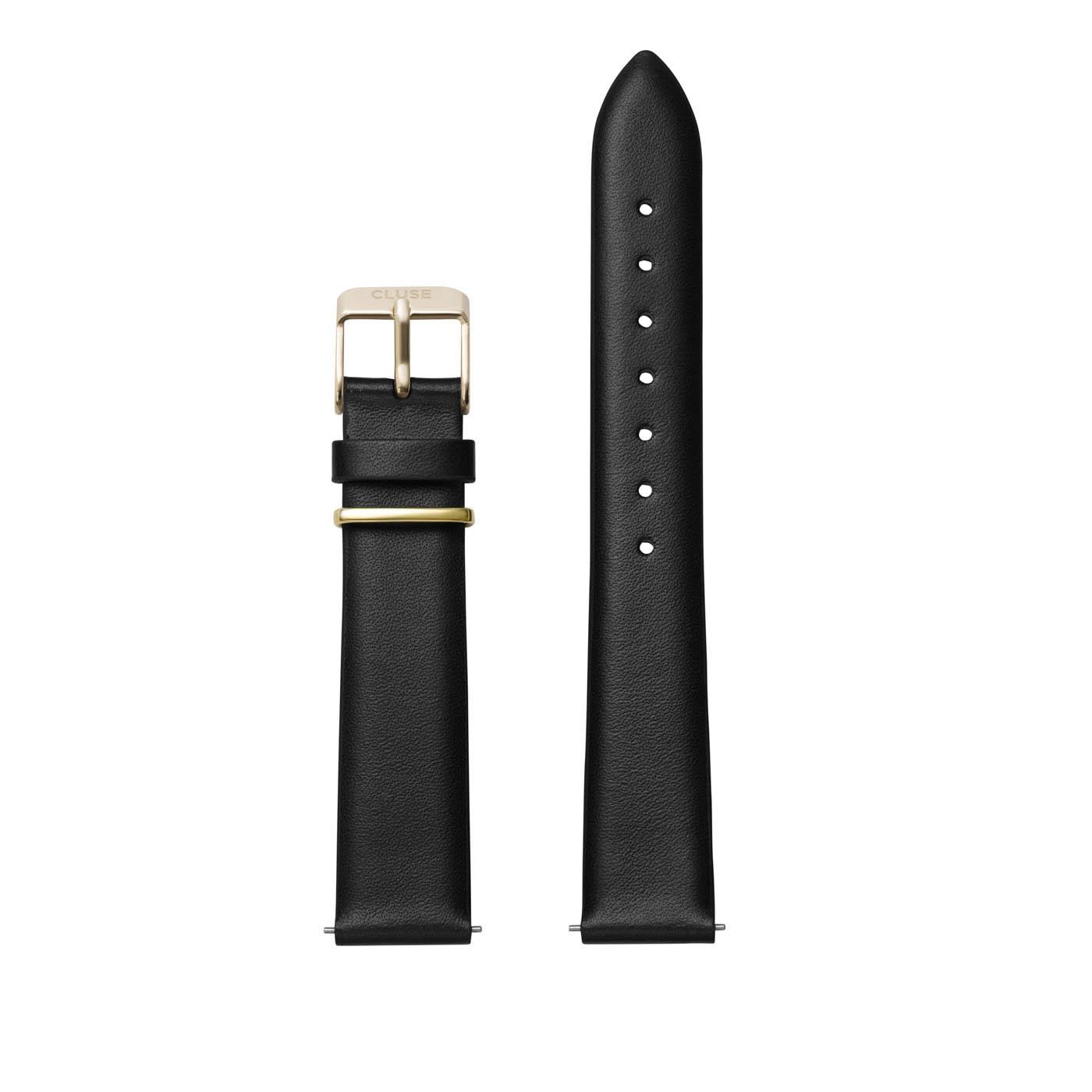 CLUSE Strap 16 mm La Garconne Black CLS602