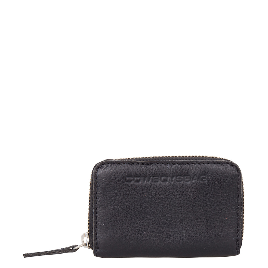 Cowboysbag Macon Black Ritsportemonee 2110-000100