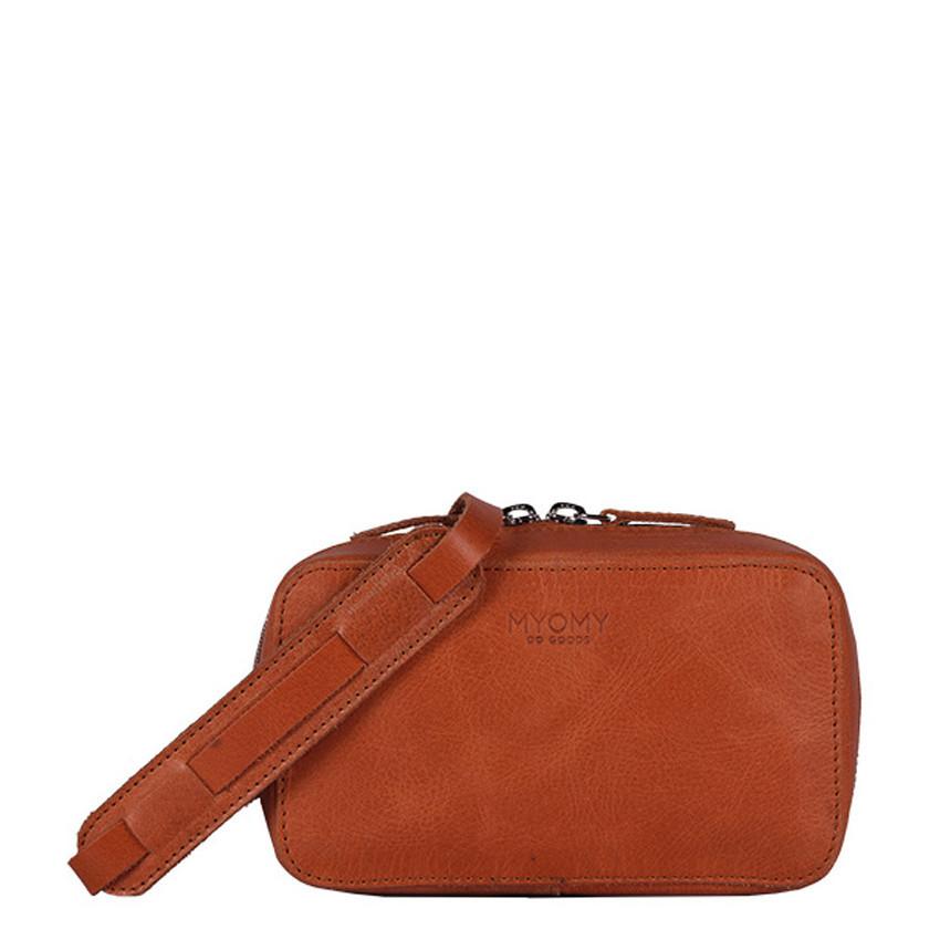 MYOMY My Boxy Bag Hunter Waxy Ginger Crossbody MOM13661163