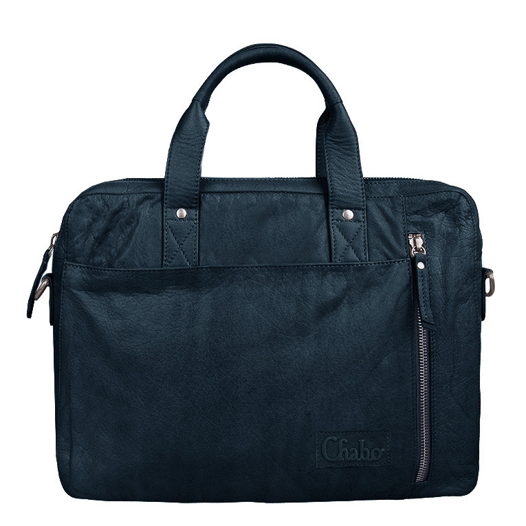 Chabo Bags Detroit Office Blue Laptoptas 8719274532781-N