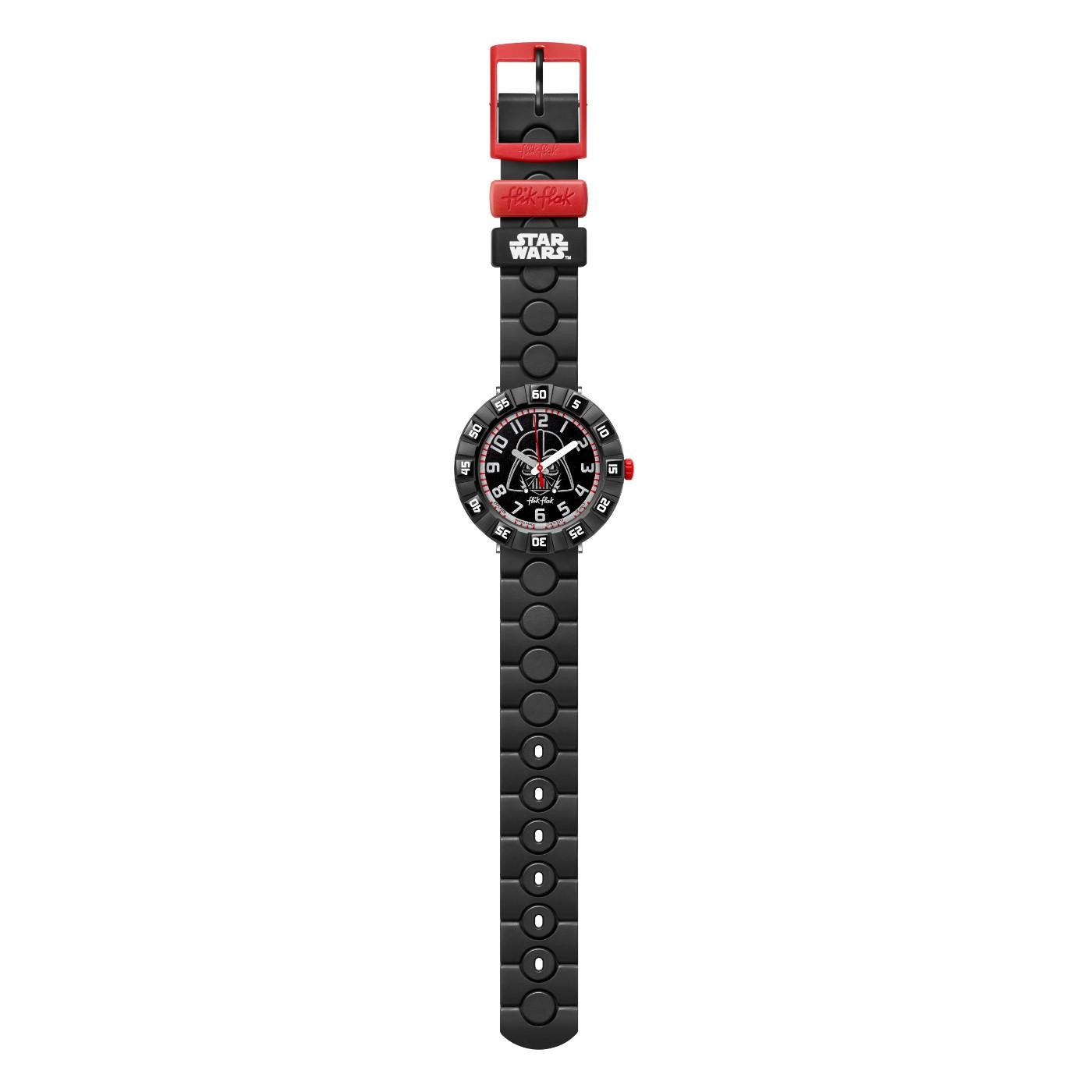 Flik Flak Friends & Heroes Star Wars Darth Vader horloge FFLP005