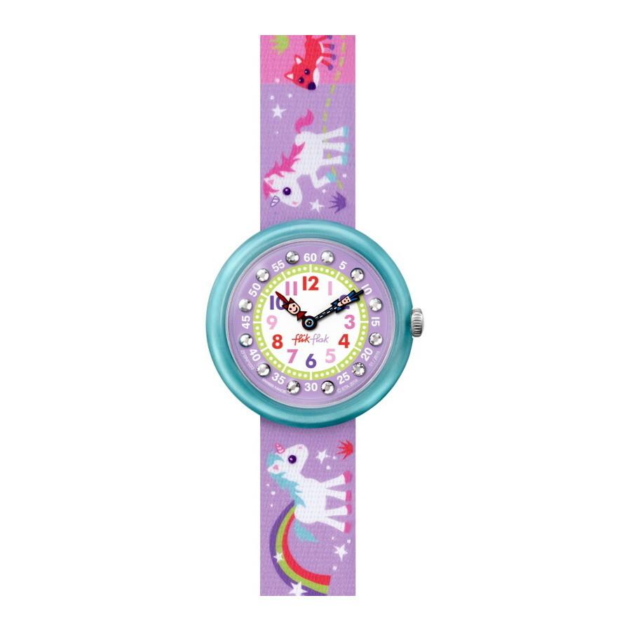 Flik Flak Sunny Hours Magical Unicorns horloge FBNP033