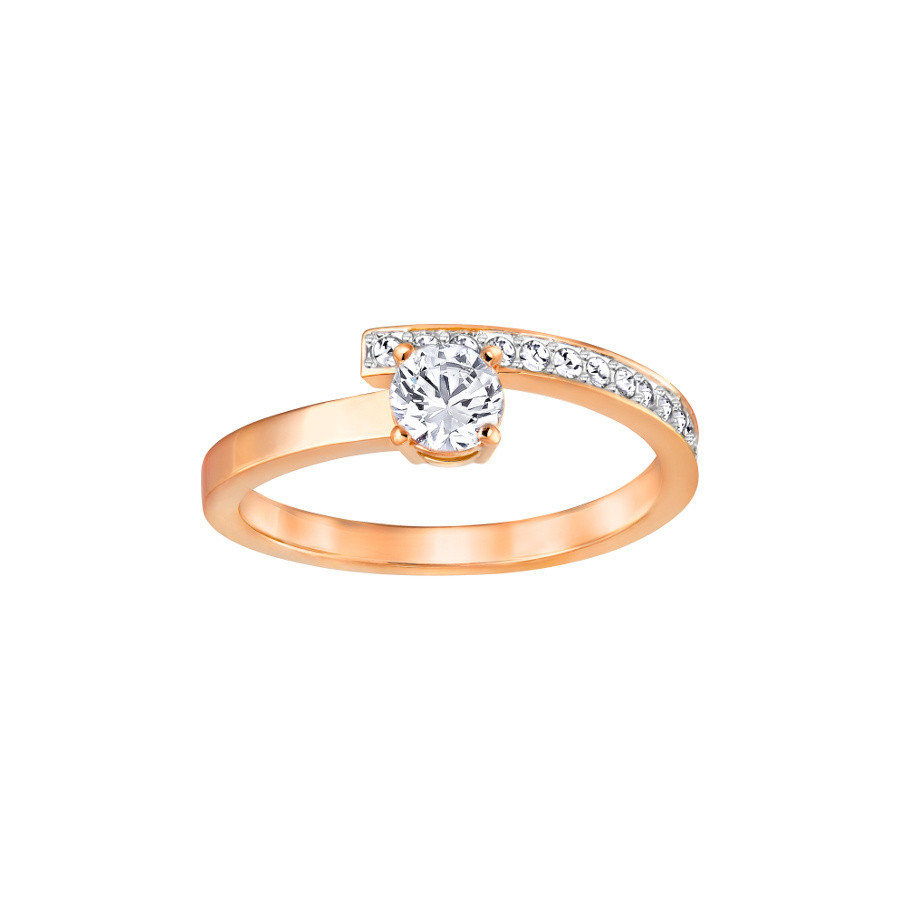 Swarovski Fresh Rose Gold Crystal Ring fresh-rose-crystal-ring