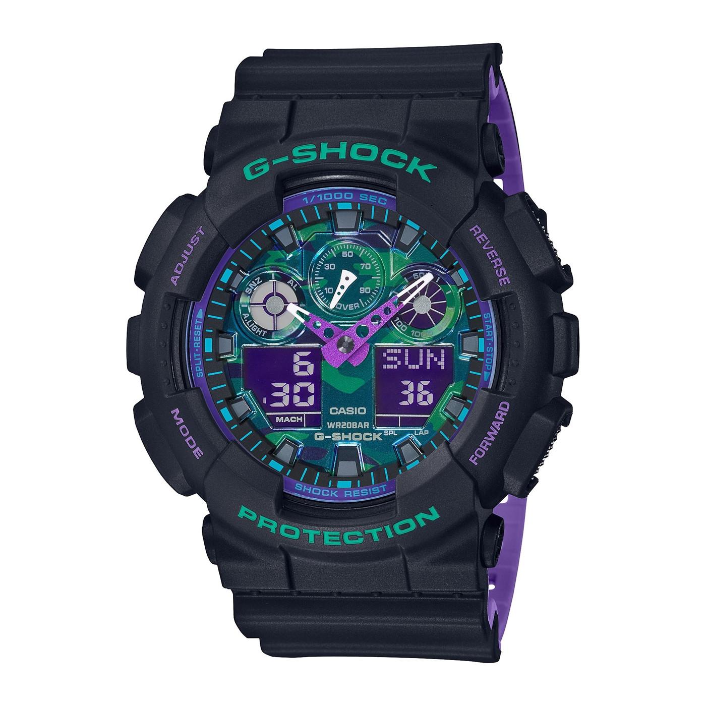 G-Shock Classic Horloge GA-100BL-1AER