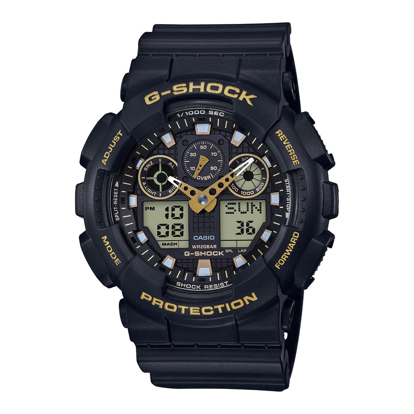 G-Shock Horloge GA-100GBX-1A9ER