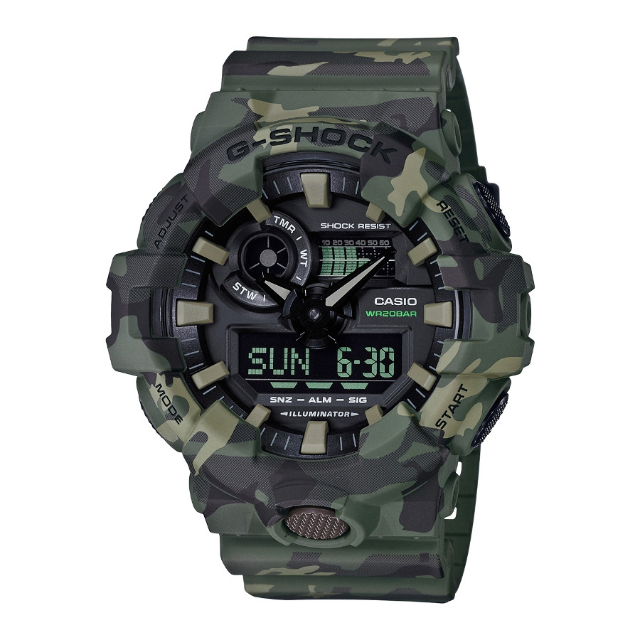 G-Shock Camouflage horloge GA-700CM-3AER