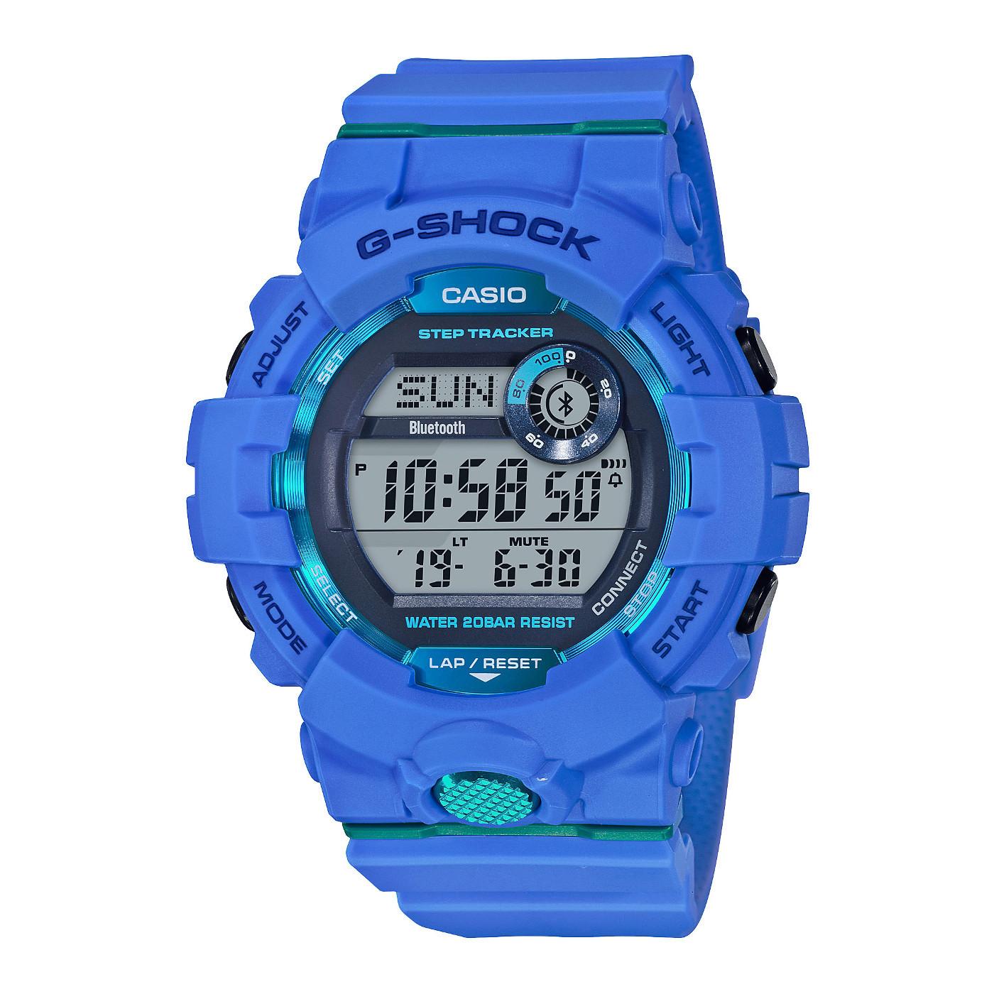 G-Shock G-Squad Stepcounter Bluetooth Connected horloge GBD-800-2ER