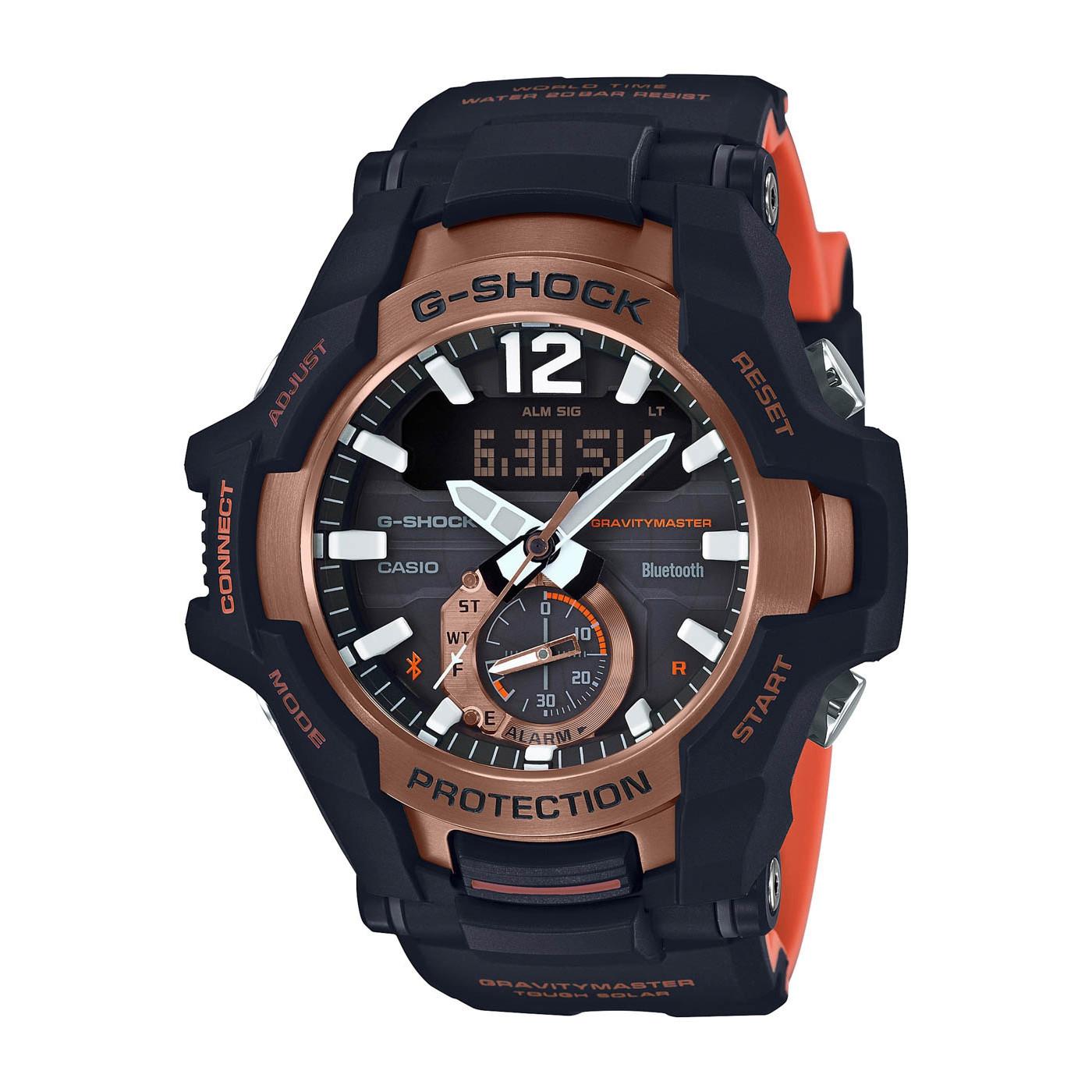G-Shock Gravitymaster Bluetooth Solar horloge GR-B100-1A4ER