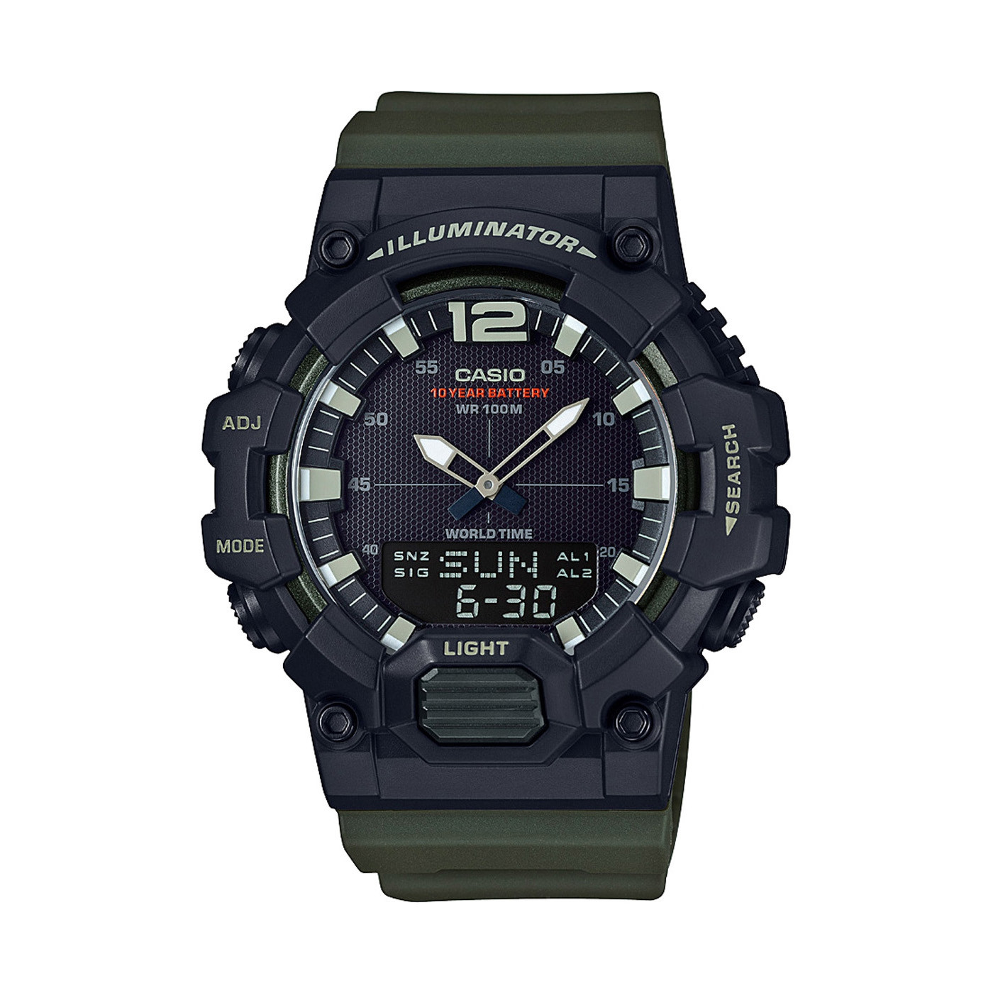 Casio horloge HDC-700-3AVEF