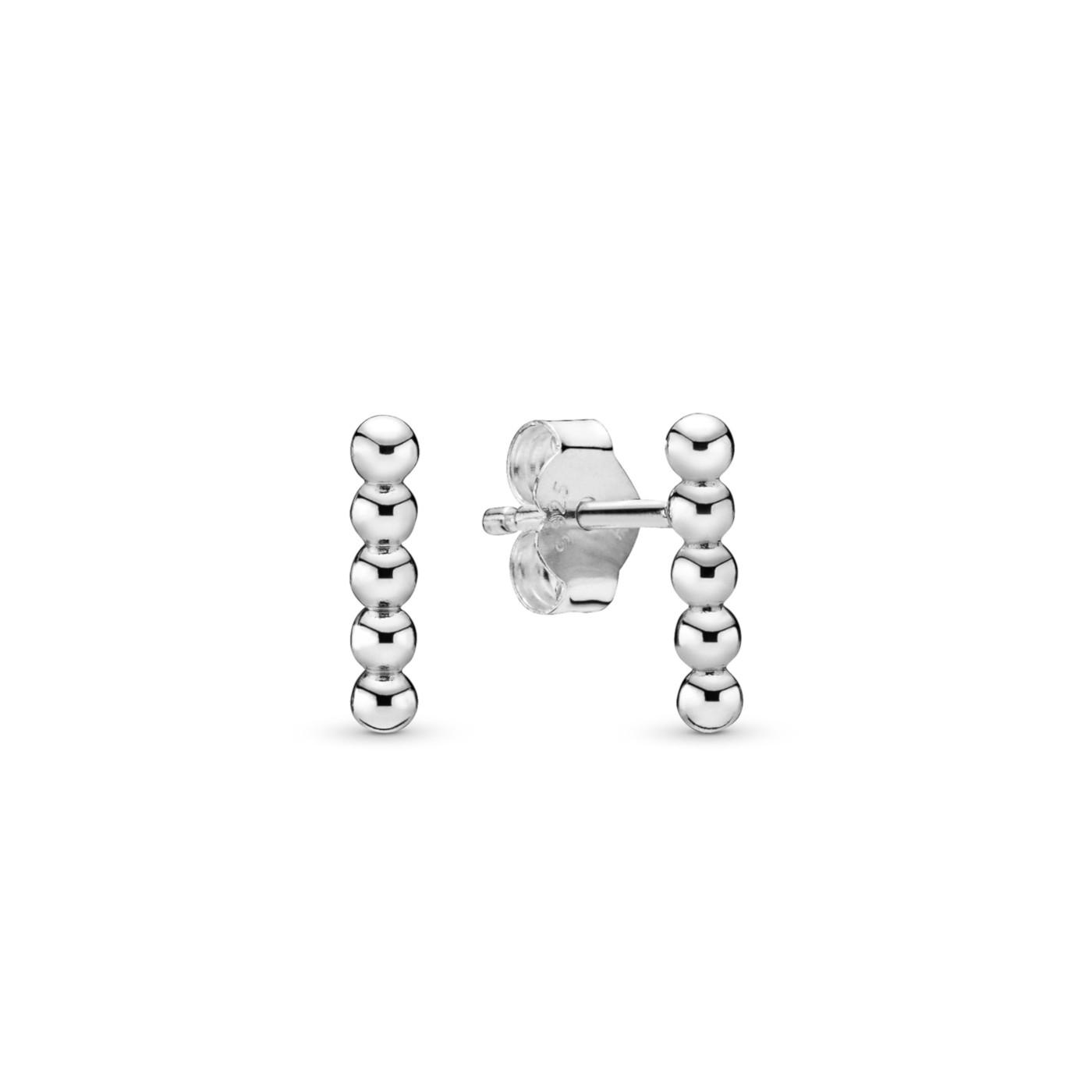 Pandora 925 Sterling Zilveren Beaded Oorbellen 298359