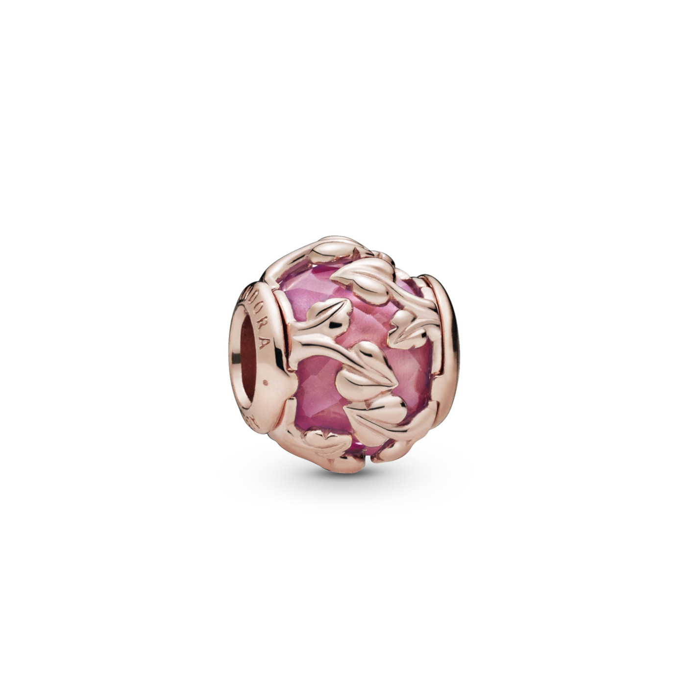 Pandora Moments 925 Sterling Zilveren Roségoudkleurige Leaves Bedel 788238SSP