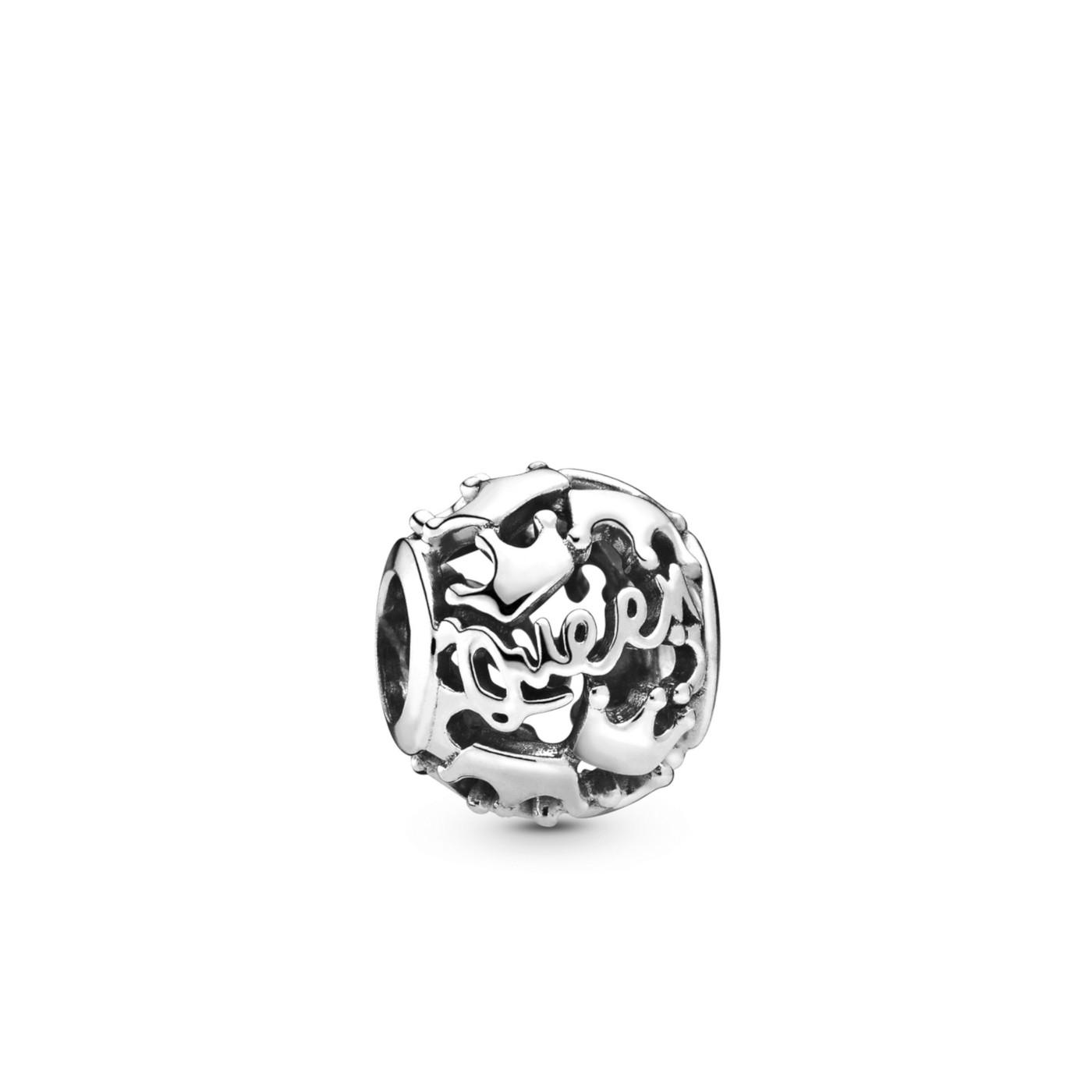 Pandora Moments 925 Sterling Zilveren Queen Bedel 798354