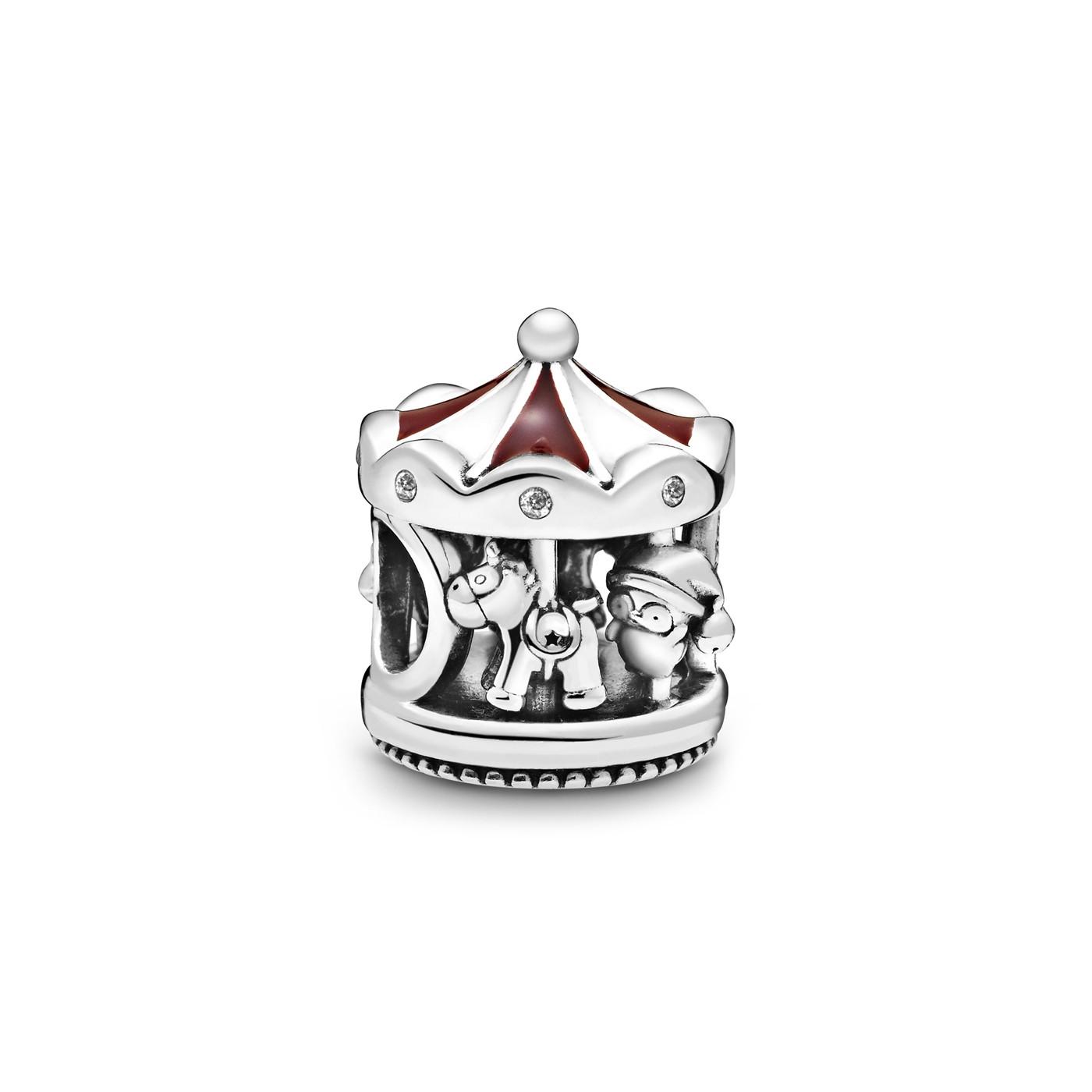 Pandora Moments 925 Sterling Zilveren Carousel Bedel 798435C01