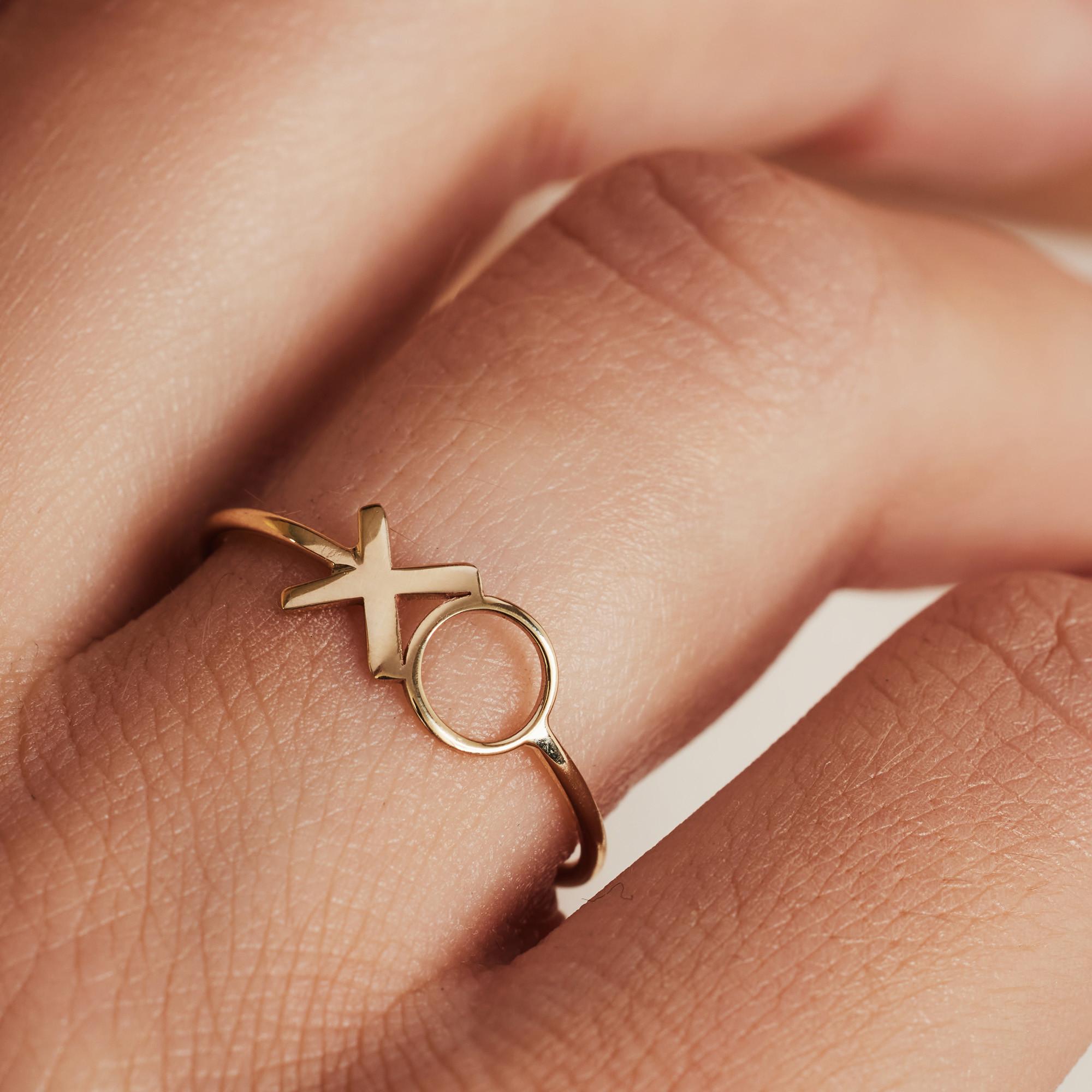 Isabel Bernard Belleville Bisou 14 Karaat Gouden Ring IB330040