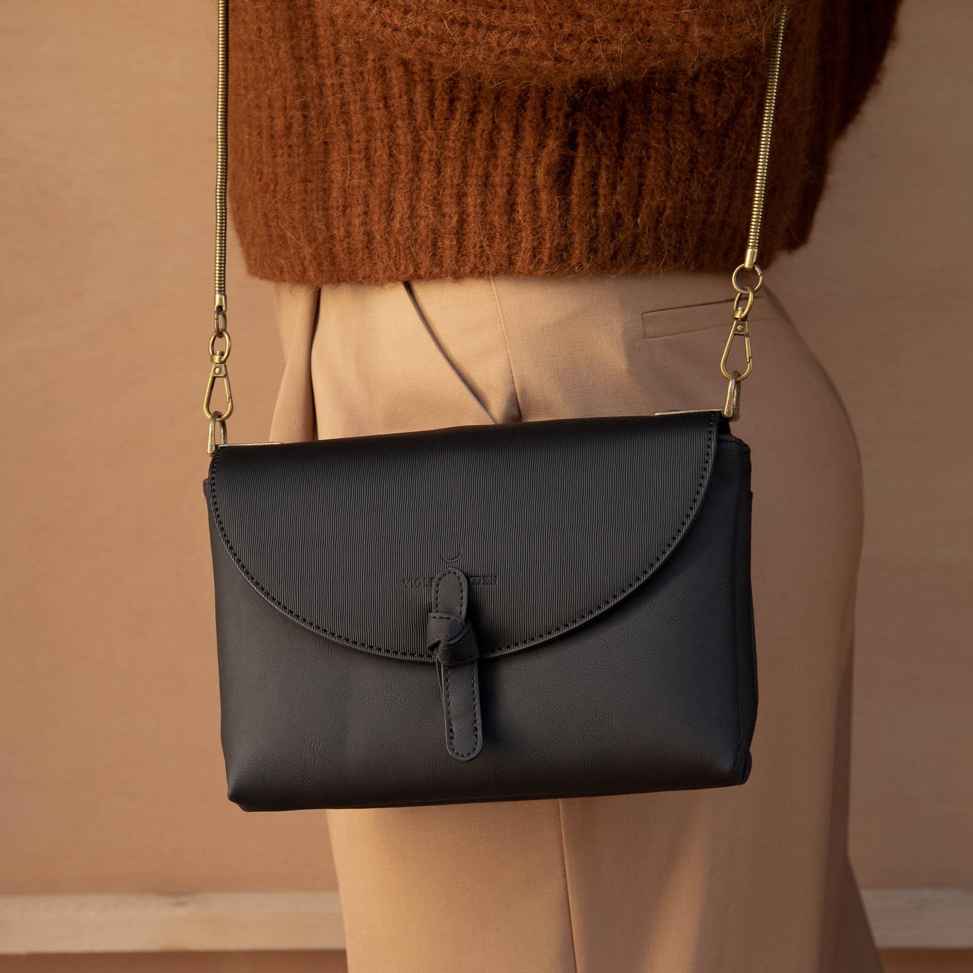 Violet Hamden Essential Bag Black Crossbody VH22007