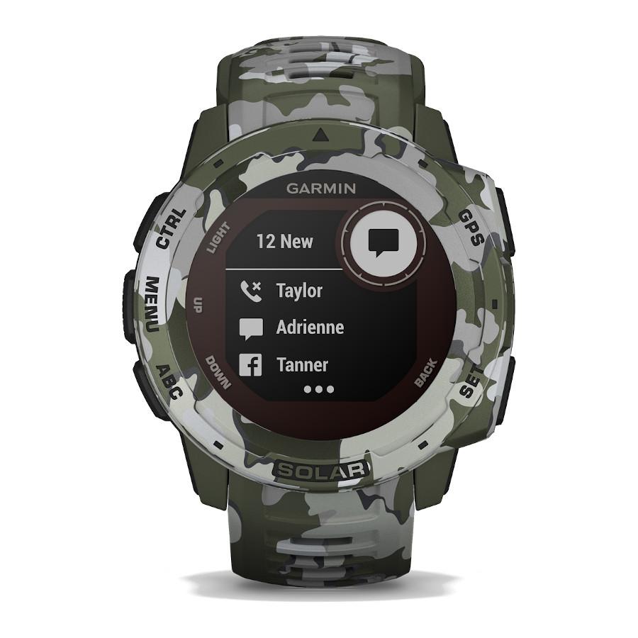 Garmin Instinct Solar Lichen Camo Smartwatch 010-02293-06