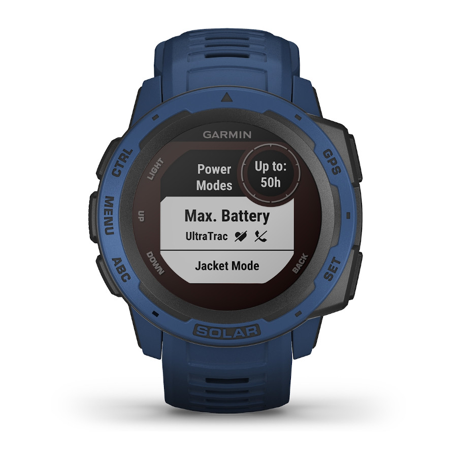 Garmin Instinct Solar Tidal Blue Smartwatch 010-02293-01