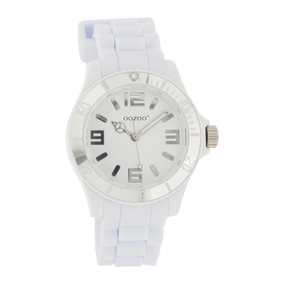 OOZOO Junior horloge Wit JR215 (38 mm)