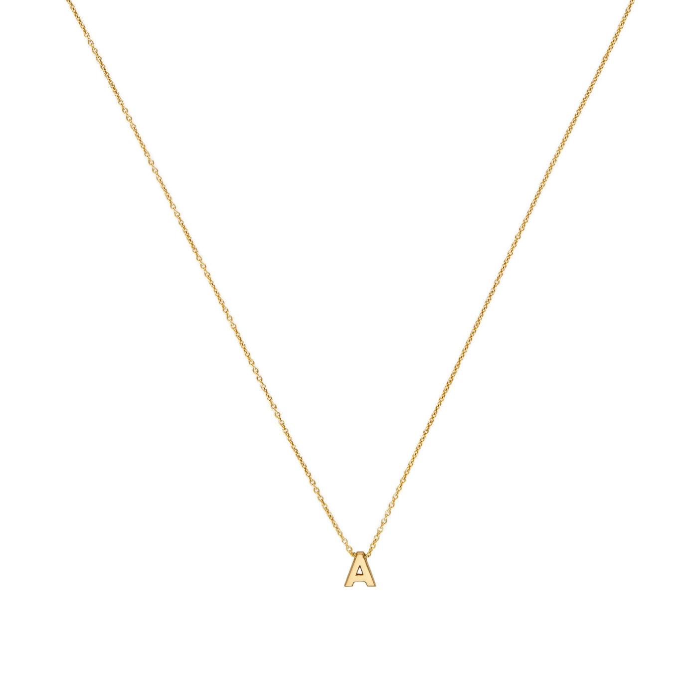 Minitials 18 Karaat Gouden Signature Intitial Ketting