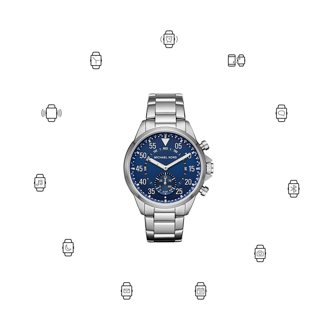 Michael Kors Access Gage Hybrid Smartwatch MKT4000