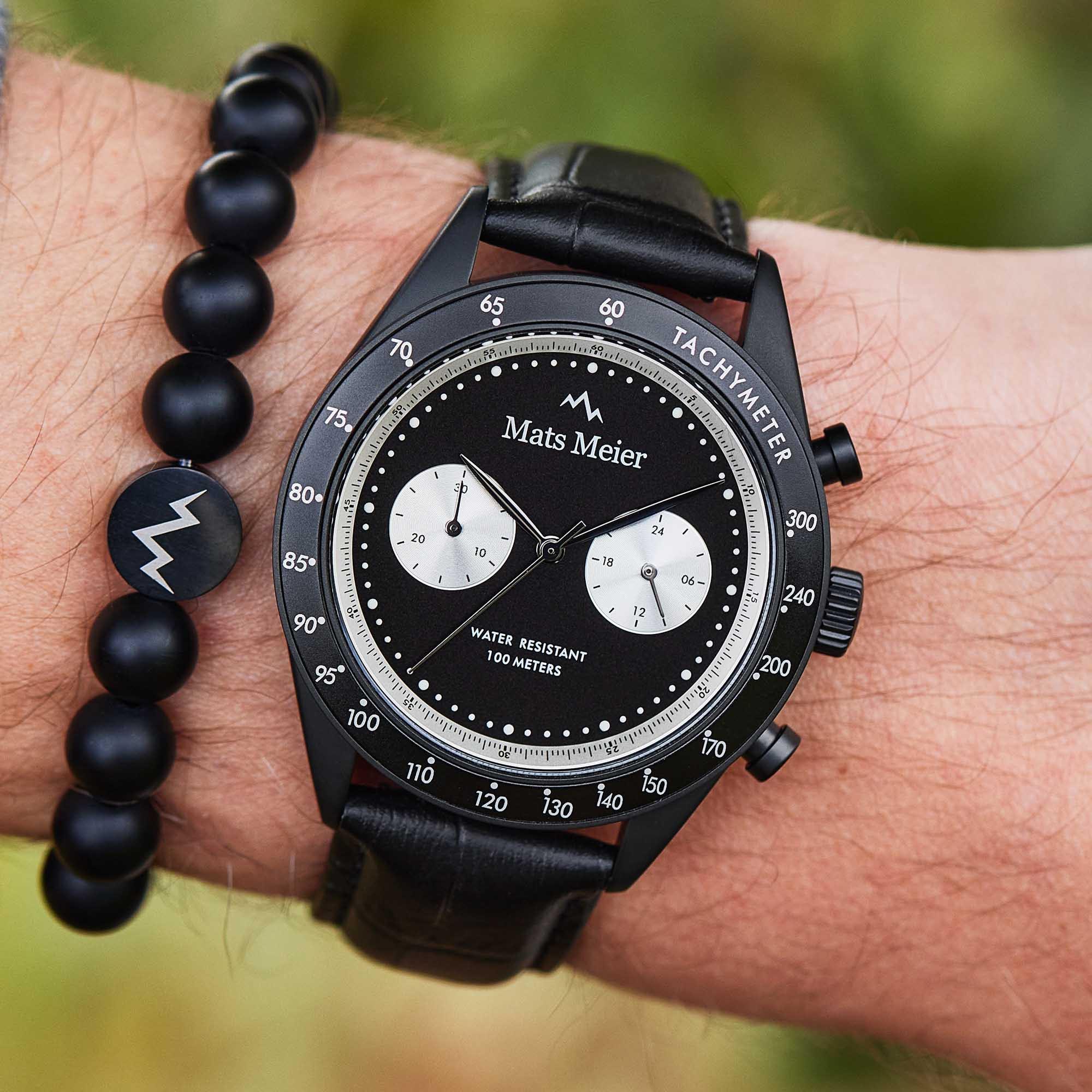 Mats Meier Arosa Racing Chrono horloge MM50002