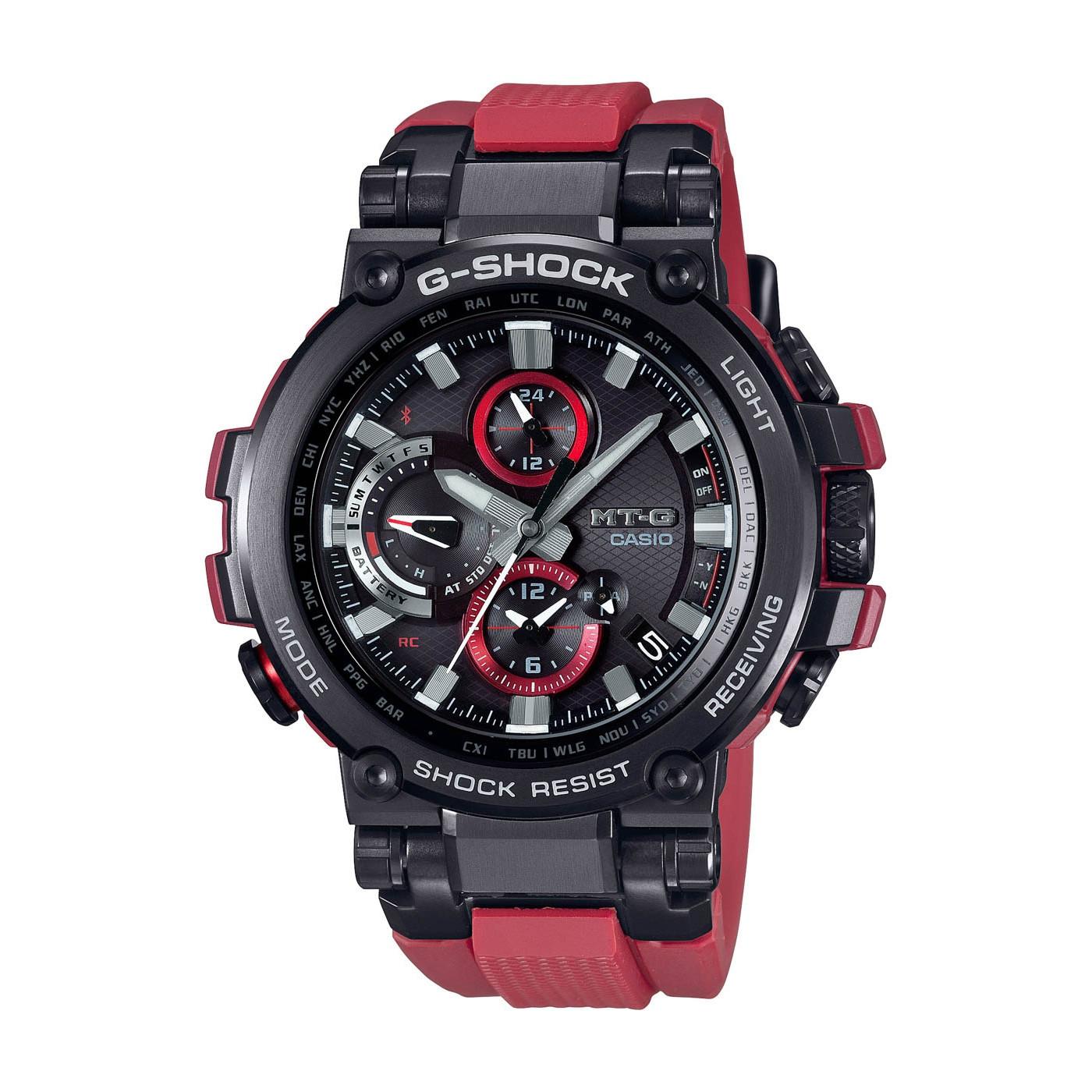 G-Shock MT-G Metal Twisted Bluetooth Solar horloge MTG-B1000B-1A4ER
