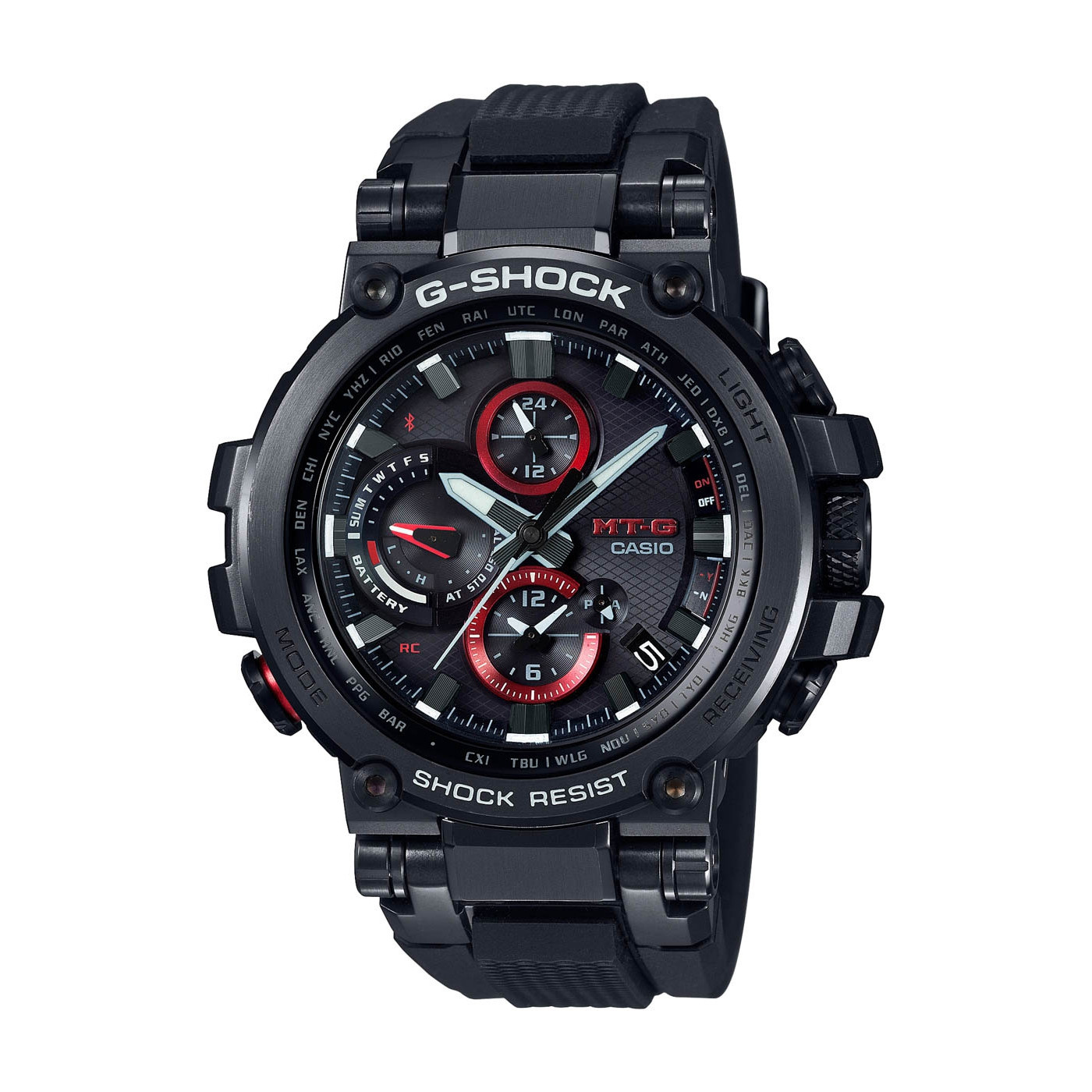 G-Shock MT-G Metal Twisted Bluetooth Solar horloge MTG-B1000B-1AER
