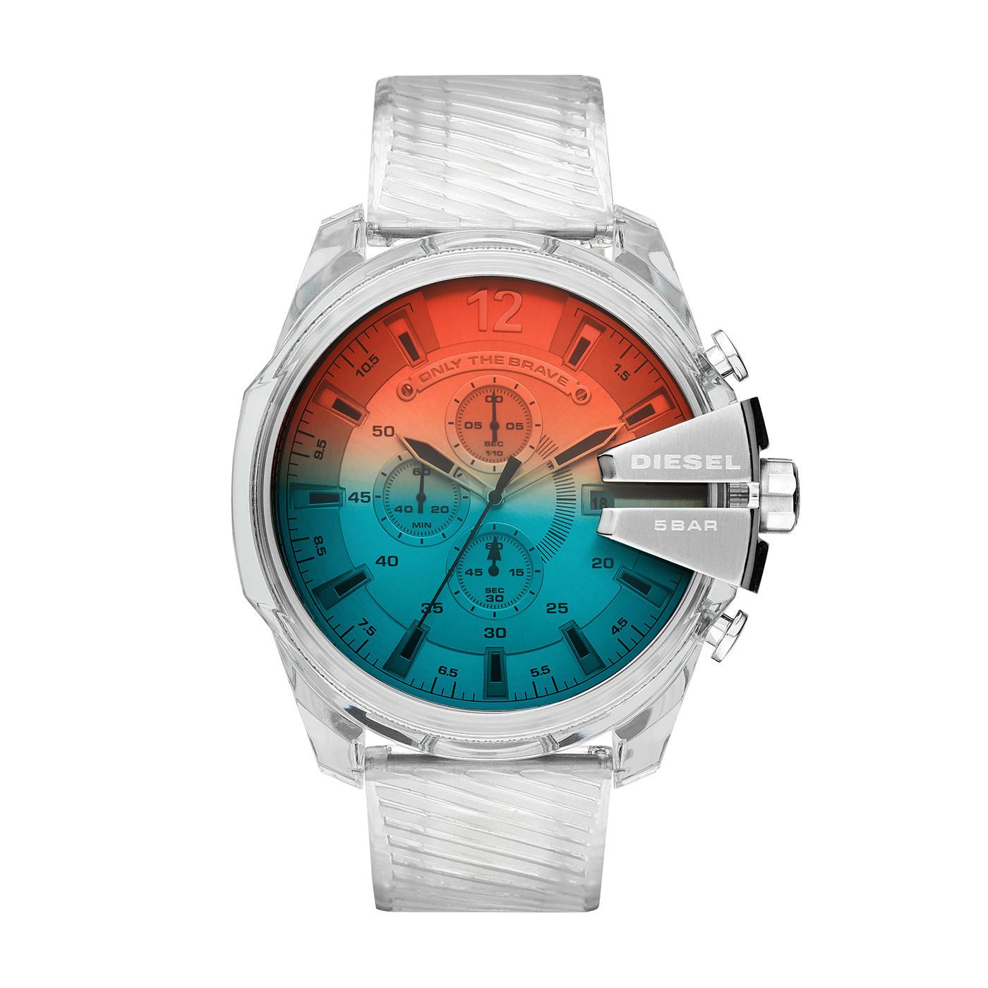 Diesel Mega Chief Chrono horloge DZ4515