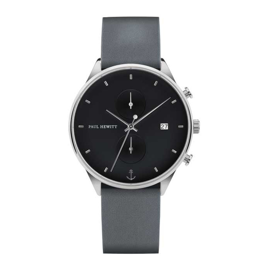 Paul Hewitt Chrono Line Midnight Ocean horloge PH-C-S-M-48M