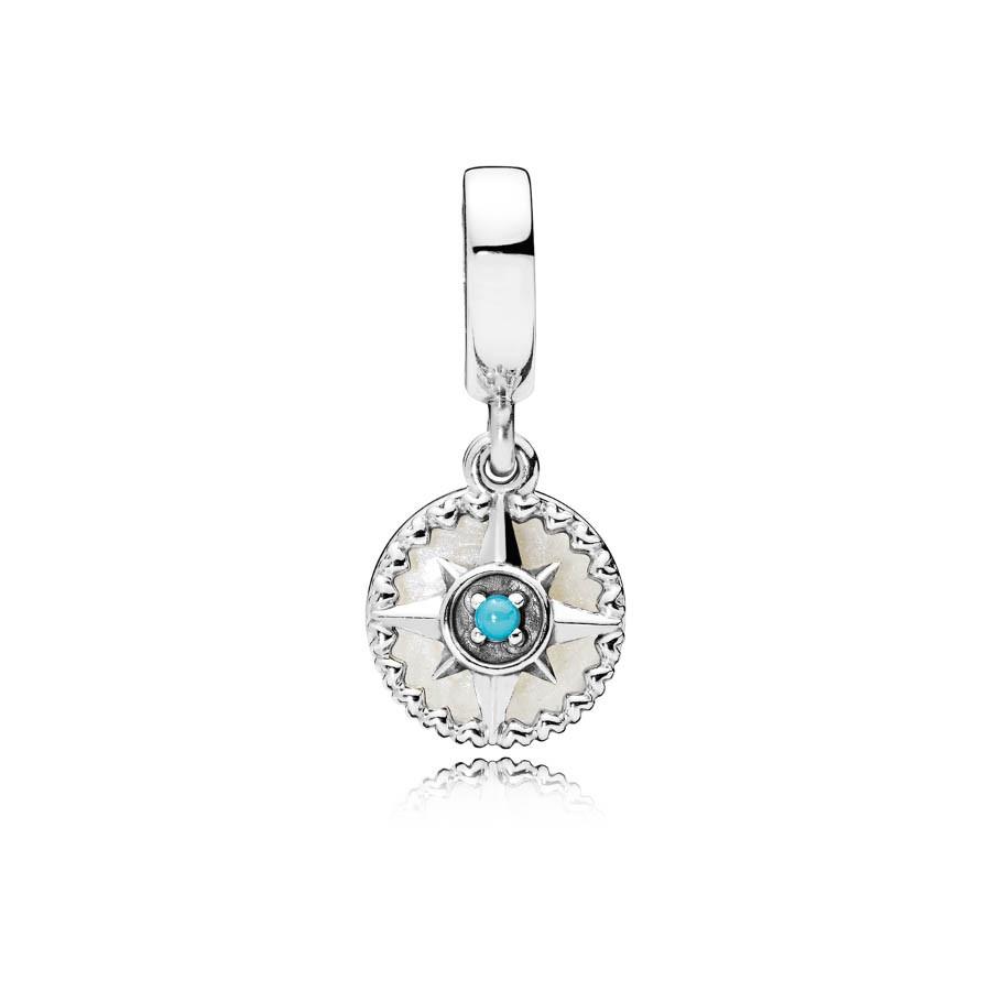 Pandora Moments Zilveren Compass Bedel 797196EN23