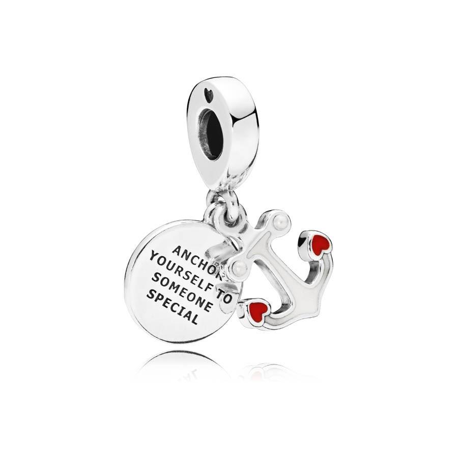 Pandora Moments Zilveren Anchor of Love Bedel 797208ENMX