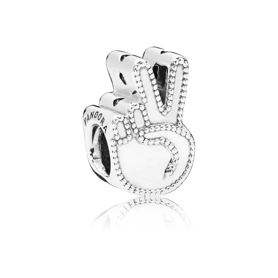 Pandora Moments Zilveren Symbol of Peace Bedel 797215