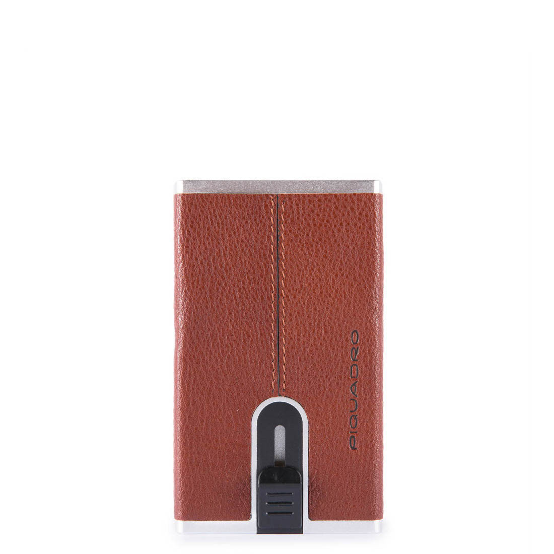 Piquadro Black Square Cognac Pasjeshouder PP4891B3R/CU