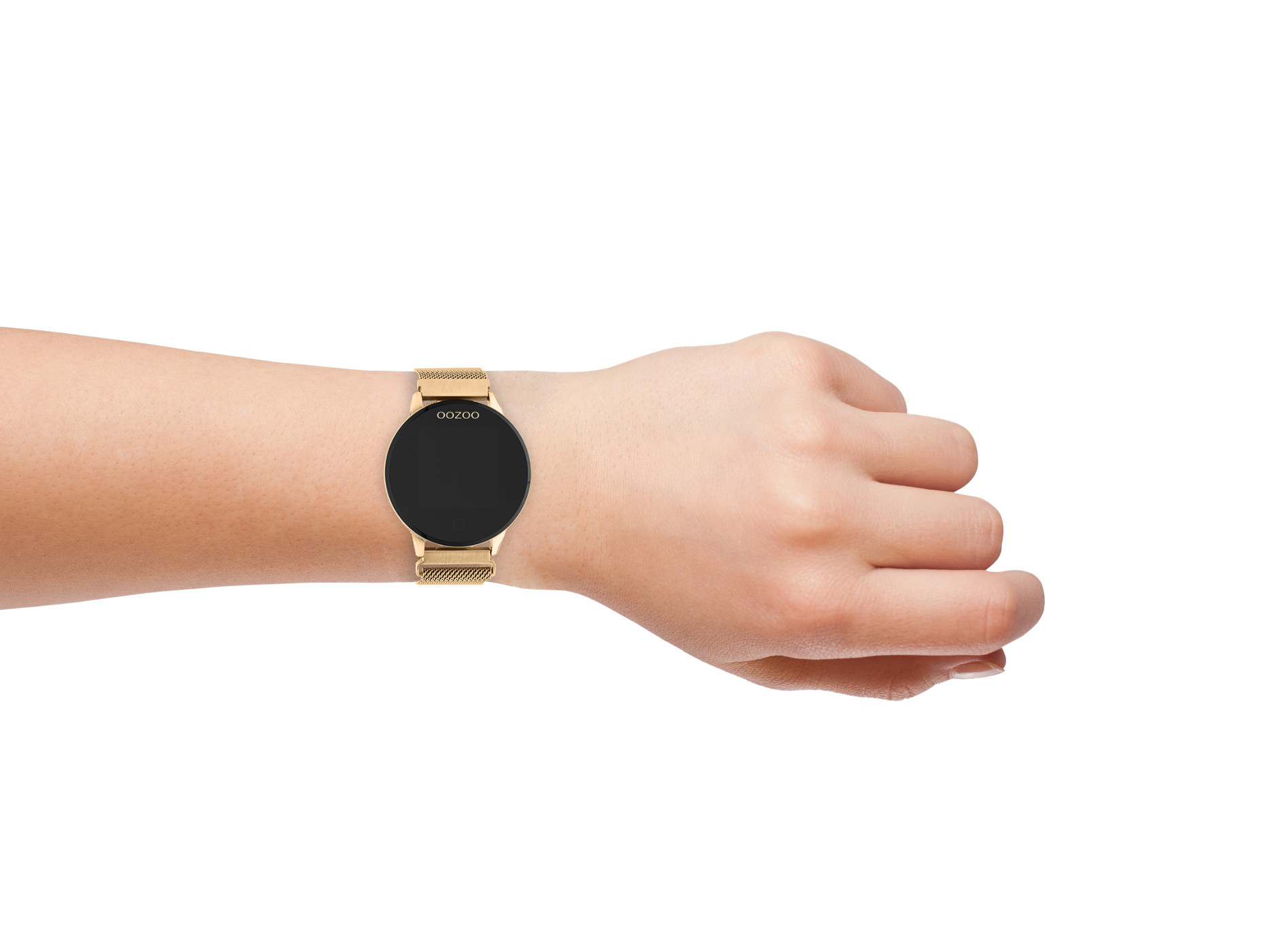 OOZOO Roségoudkleurig Display Smartwatch Q00117