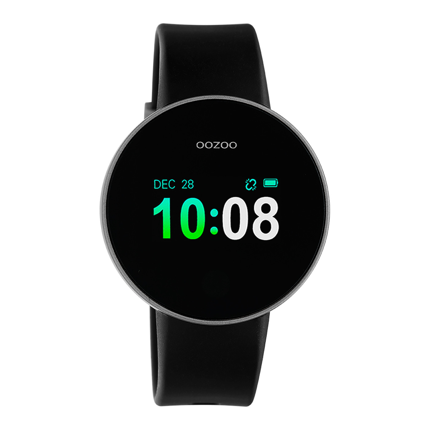 OOZOO Zwart Display Smartwatch Q00202