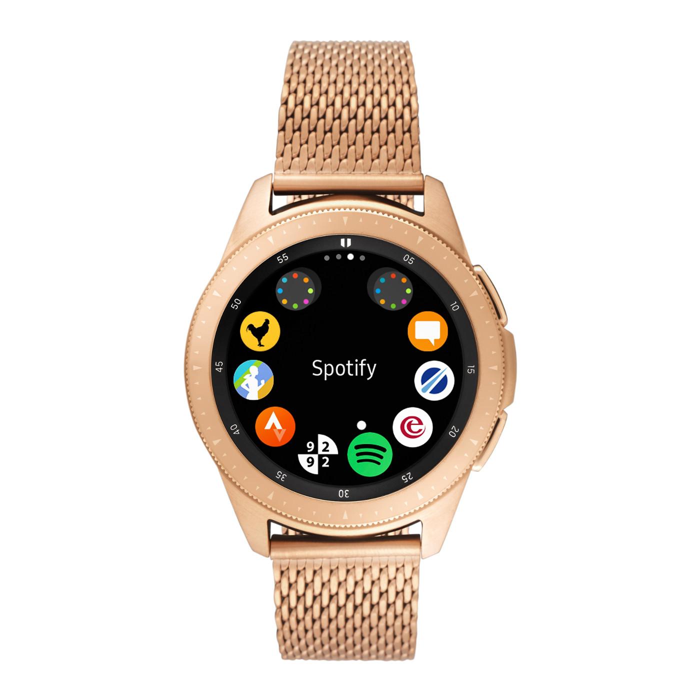 Samsung Special Edition Galaxy Smartwatch met extra horlogeband SA.GARG