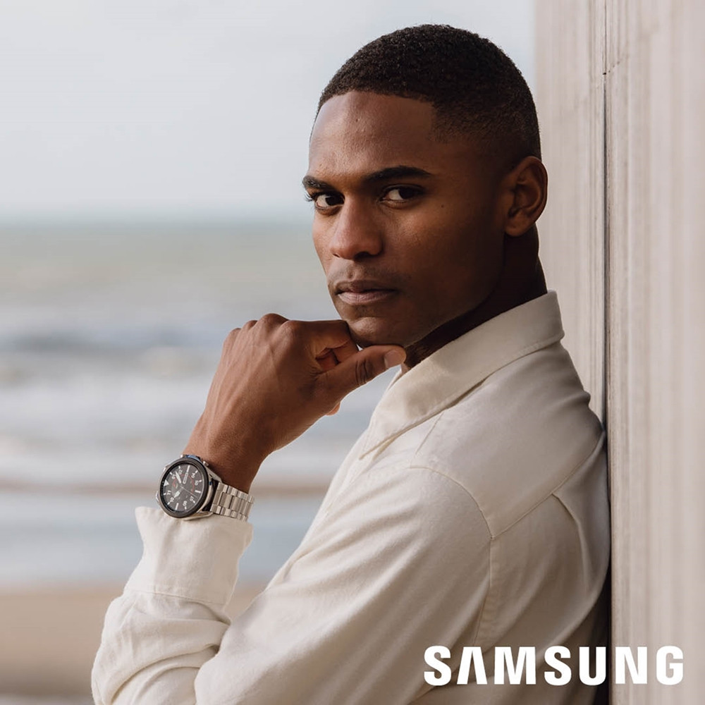 Samsung Special Edition Galaxy 3 Display Smartwatch met 2 Extra Horlogebandjes SA.R840SS