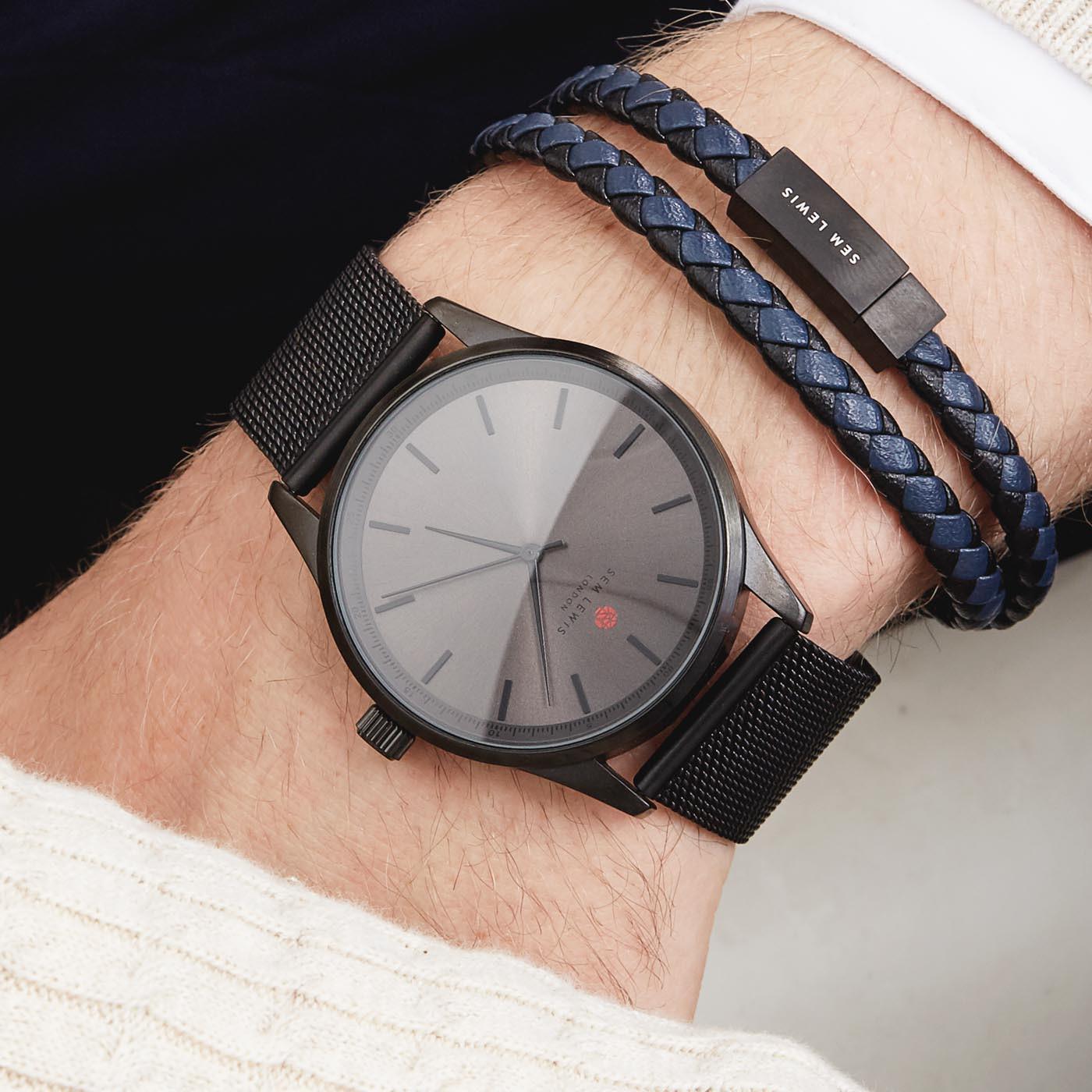 Sem Lewis Bakerloo Charing Cross Armband SL210008 (Lengte: 40.00-42.00 cm)