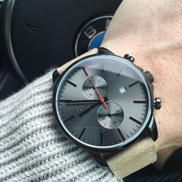 Tayroc Iconic Black horloge TXM093
