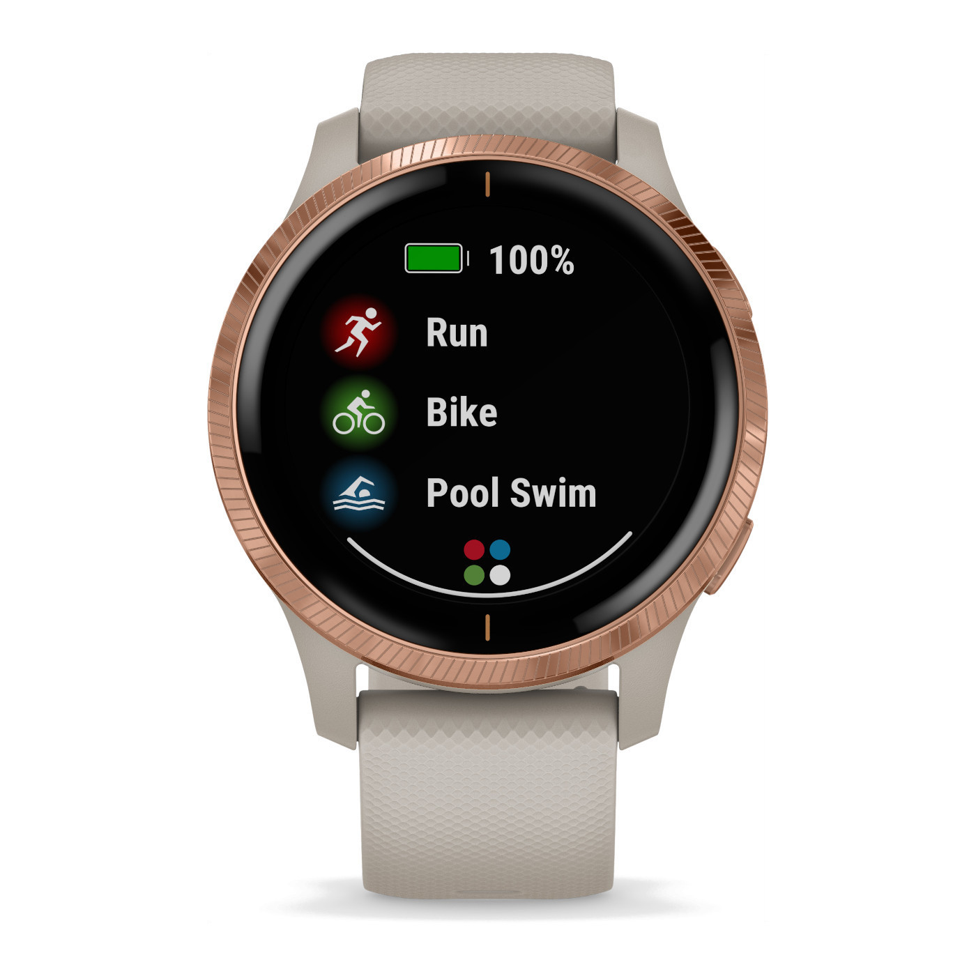 Garmin Venu Light Sand Smartwatch 010-02173-22